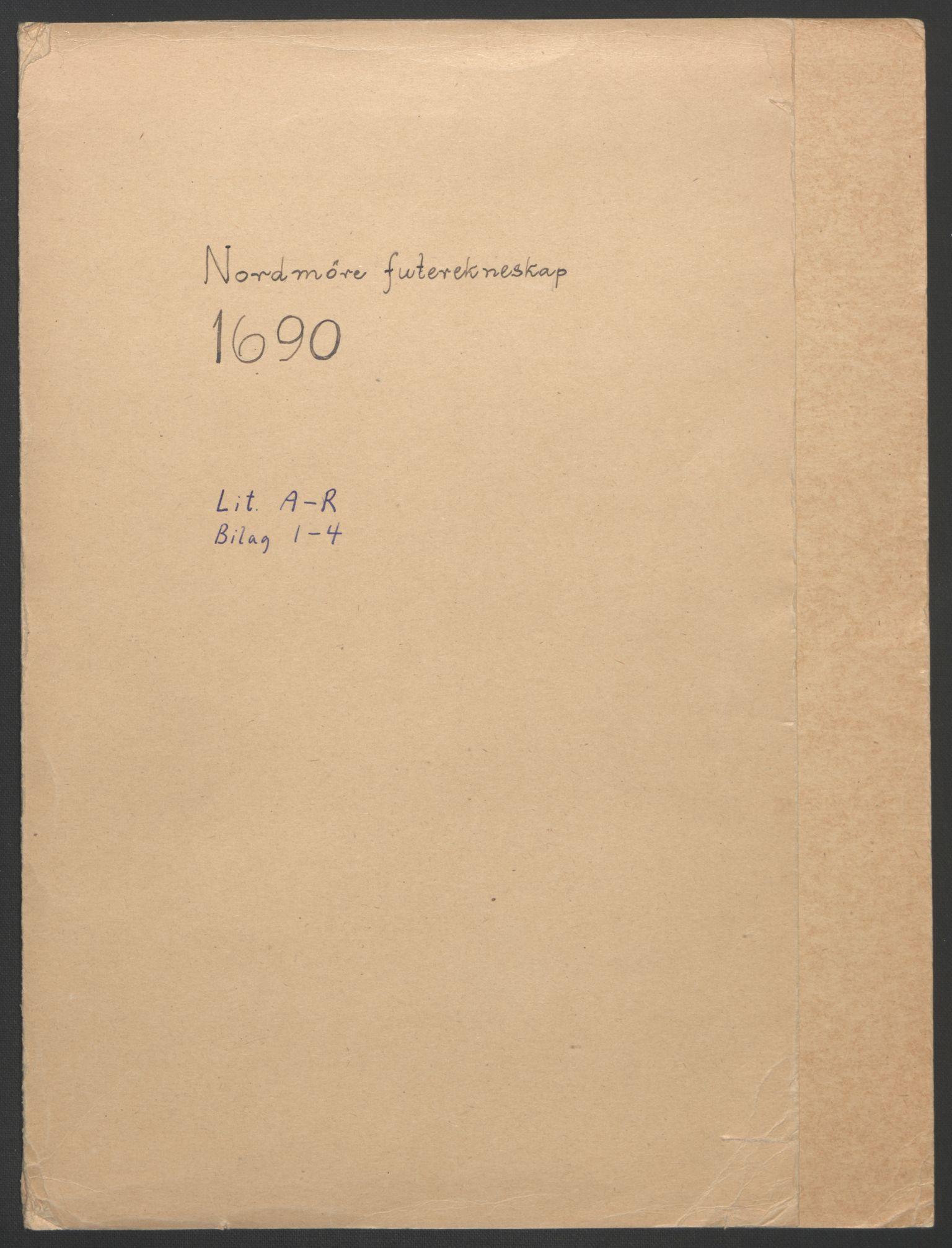 RA, Rentekammeret inntil 1814, Reviderte regnskaper, Fogderegnskap, R56/L3734: Fogderegnskap Nordmøre, 1690-1691, s. 2