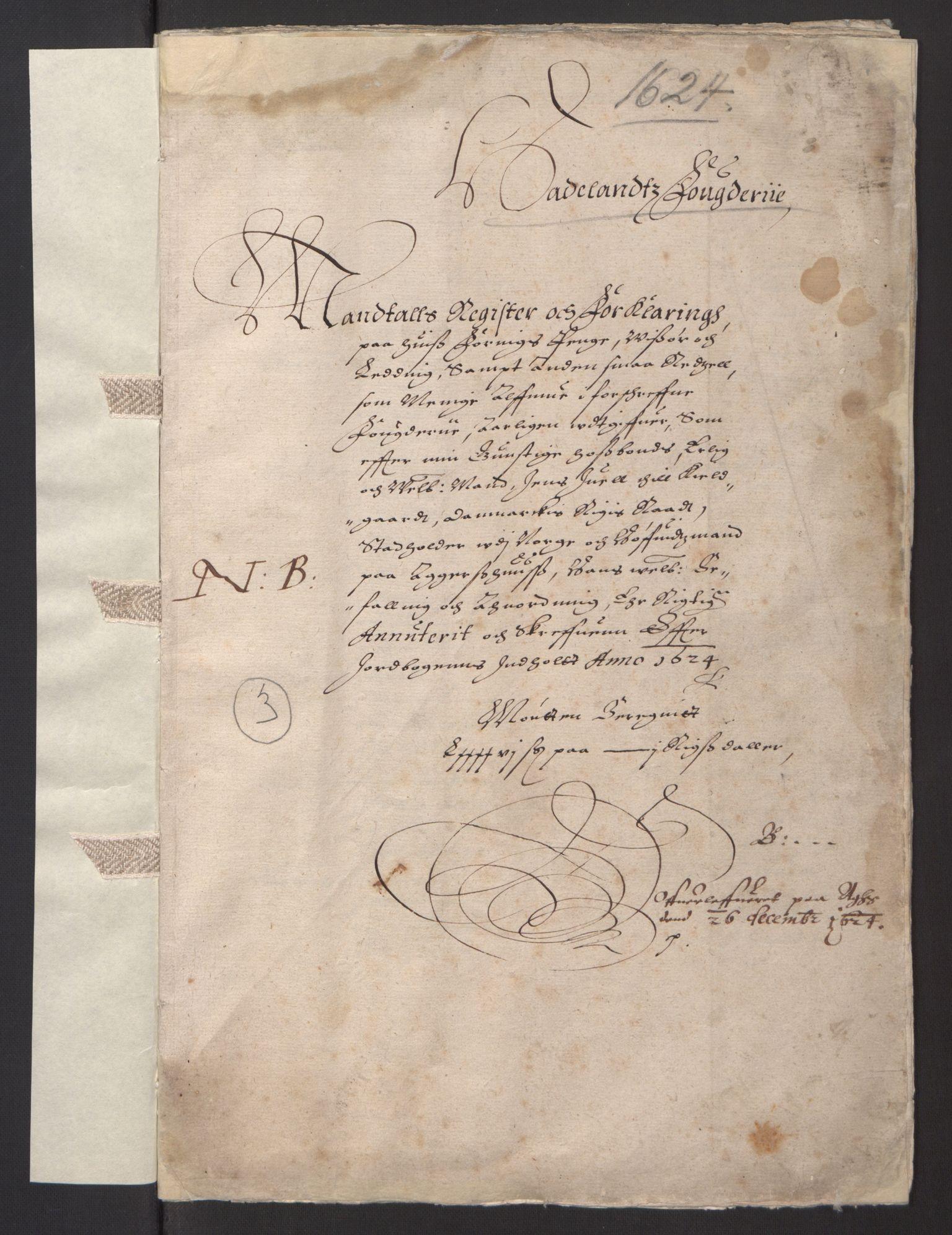 RA, Stattholderembetet 1572-1771, Ek/L0001: Jordebøker før 1624 og til utligning av garnisonsskatt 1624-1626:, 1624-1625, s. 67