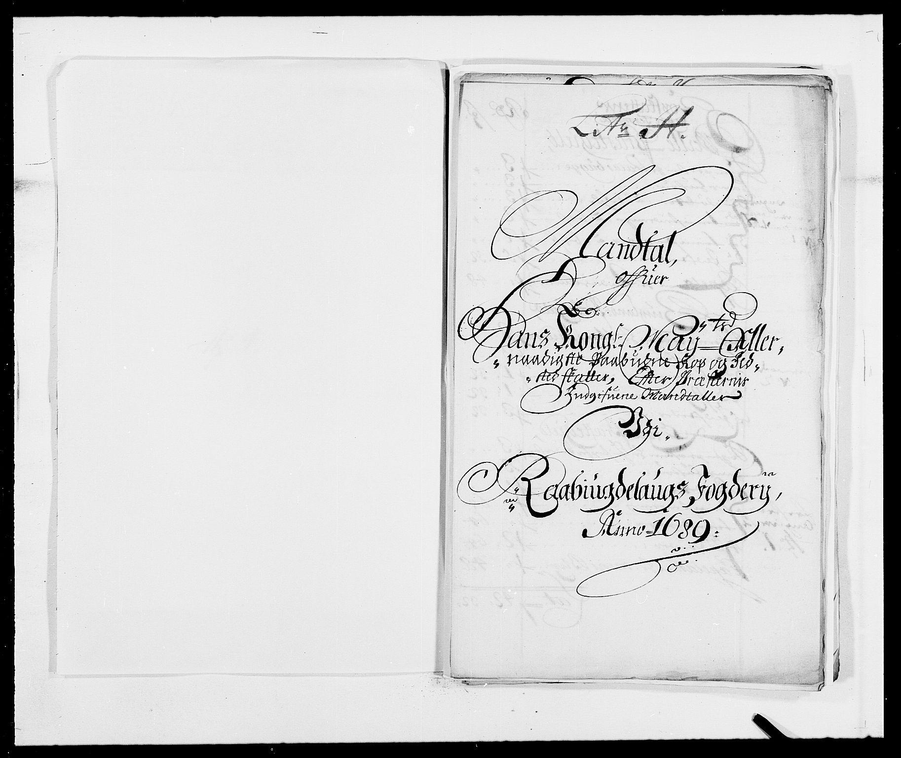 RA, Rentekammeret inntil 1814, Reviderte regnskaper, Fogderegnskap, R40/L2442: Fogderegnskap Råbyggelag, 1689-1690, s. 89