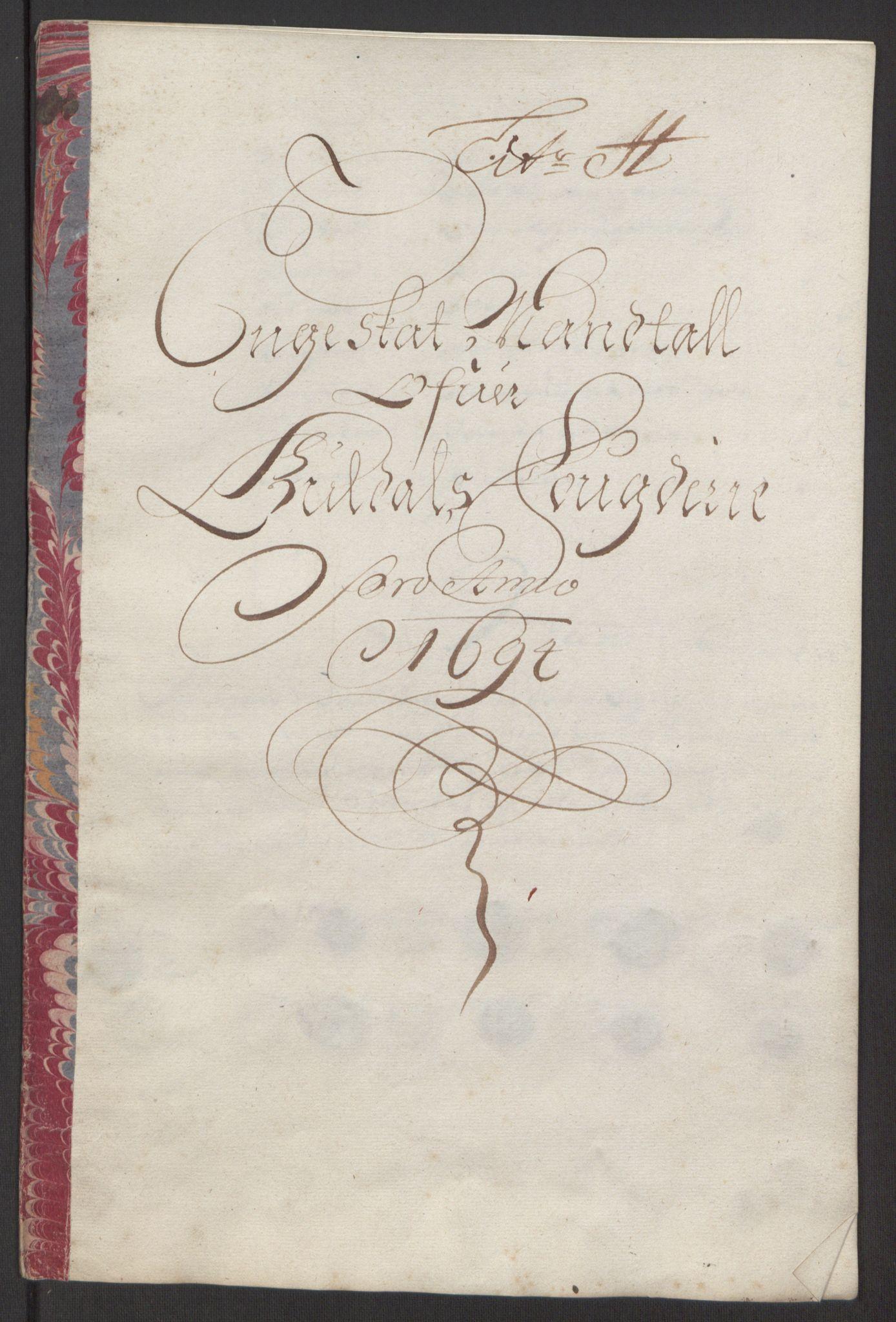 RA, Rentekammeret inntil 1814, Reviderte regnskaper, Fogderegnskap, R60/L3944: Fogderegnskap Orkdal og Gauldal, 1694, s. 372