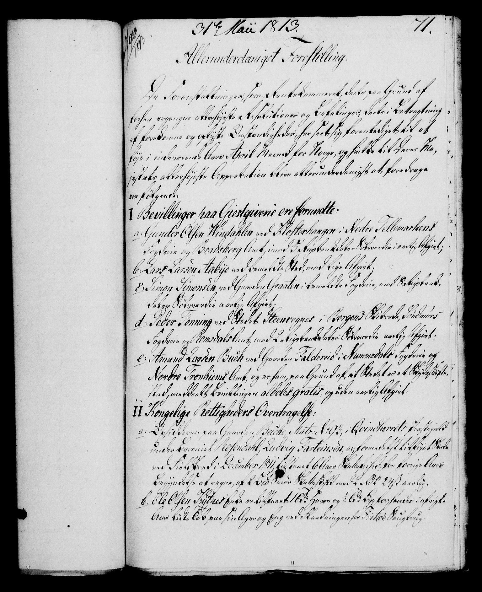 RA, Rentekammeret, Kammerkanselliet, G/Gf/Gfa/L0095: Norsk relasjons- og resolusjonsprotokoll (merket RK 52.95), 1813-1814, s. 296
