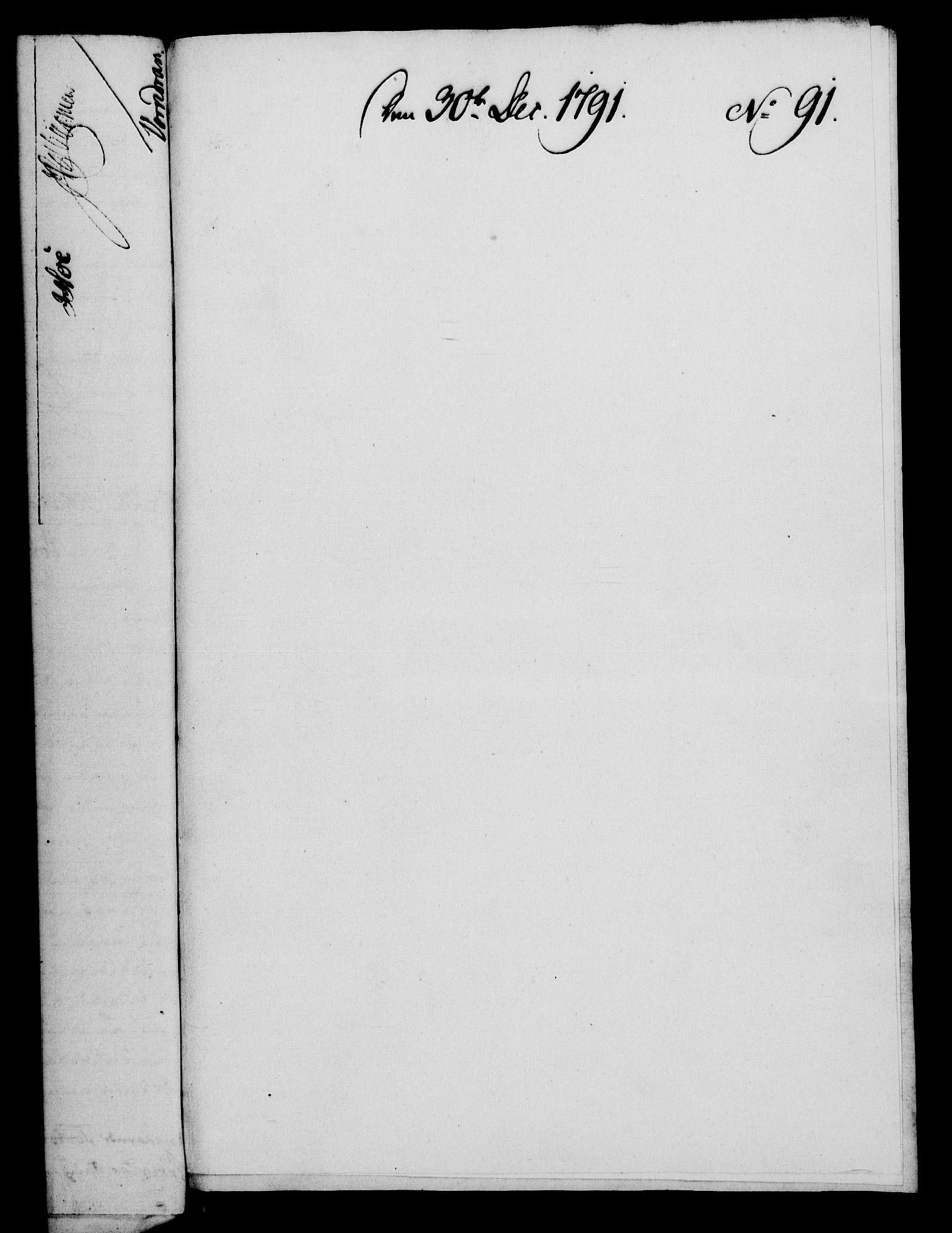 RA, Rentekammeret, Kammerkanselliet, G/Gf/Gfa/L0073: Norsk relasjons- og resolusjonsprotokoll (merket RK 52.73), 1791, s. 520