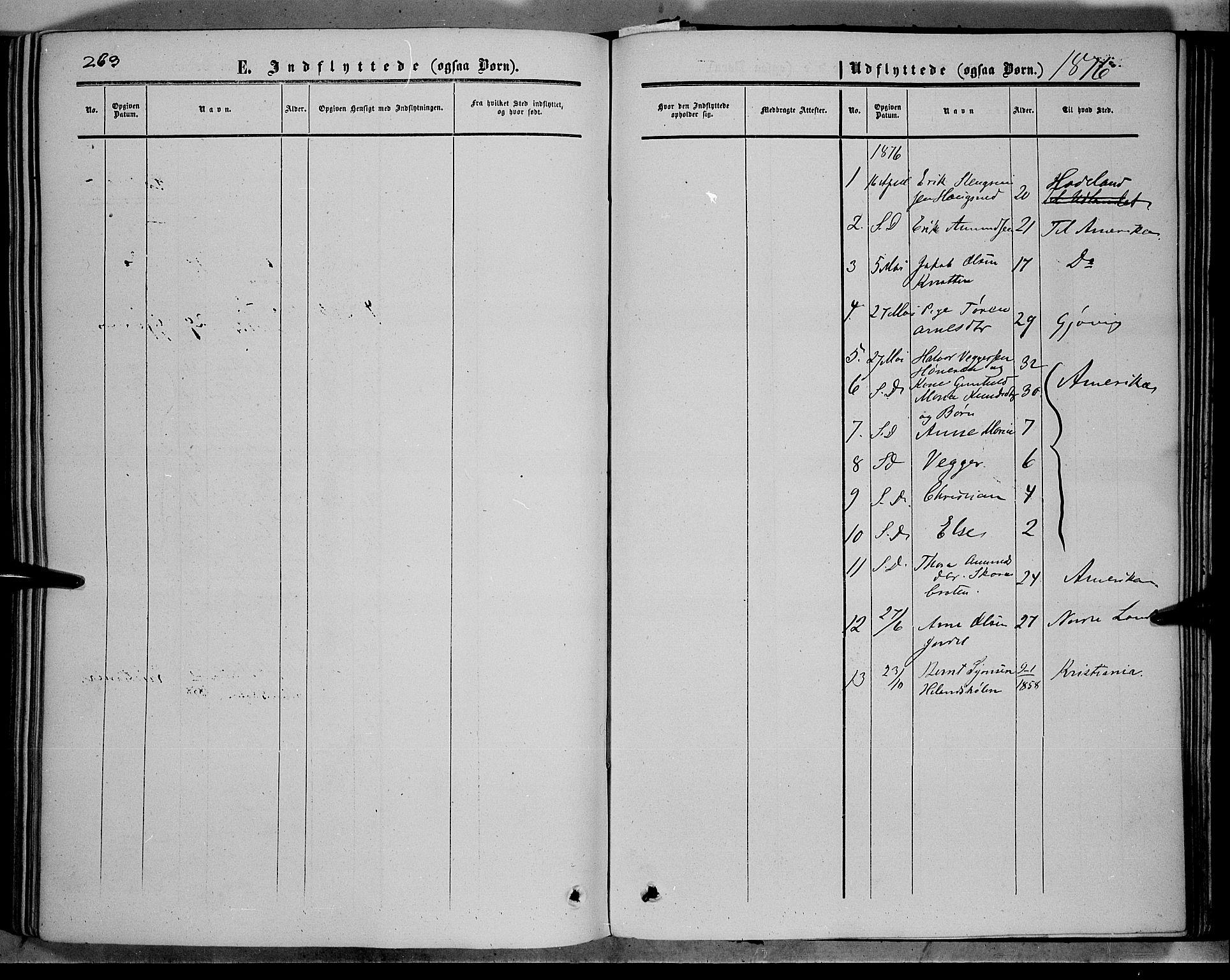 SAH, Sør-Aurdal prestekontor, Ministerialbok nr. 5, 1849-1876, s. 263