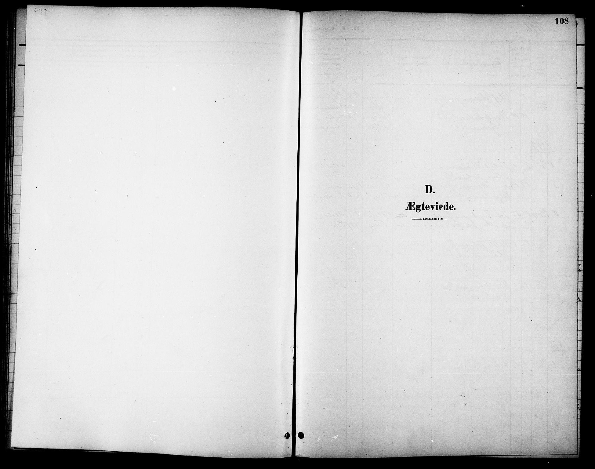 SAT, Ministerialprotokoller, klokkerbøker og fødselsregistre - Sør-Trøndelag, 621/L0460: Klokkerbok nr. 621C03, 1896-1914, s. 108
