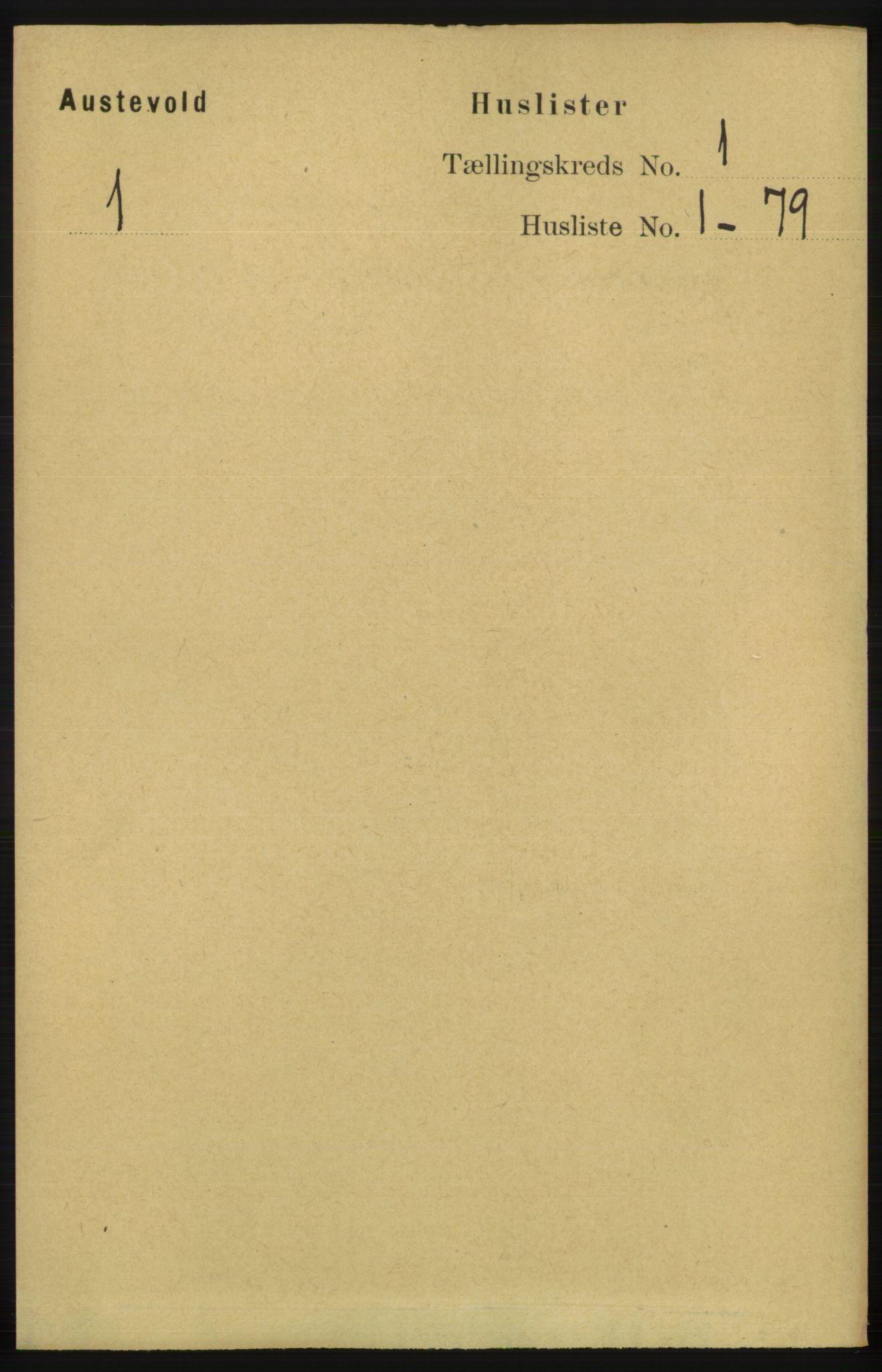 RA, Folketelling 1891 for 1244 Austevoll herred, 1891, s. 17