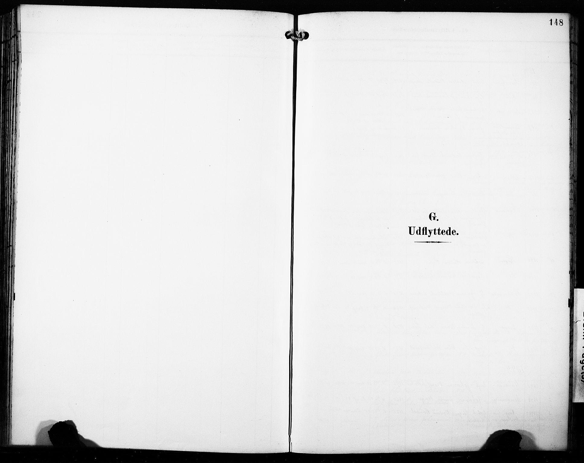 SAB, Fana Sokneprestembete, H/Haa/Haab/L0003: Ministerialbok nr. B 3, 1898-1907, s. 148