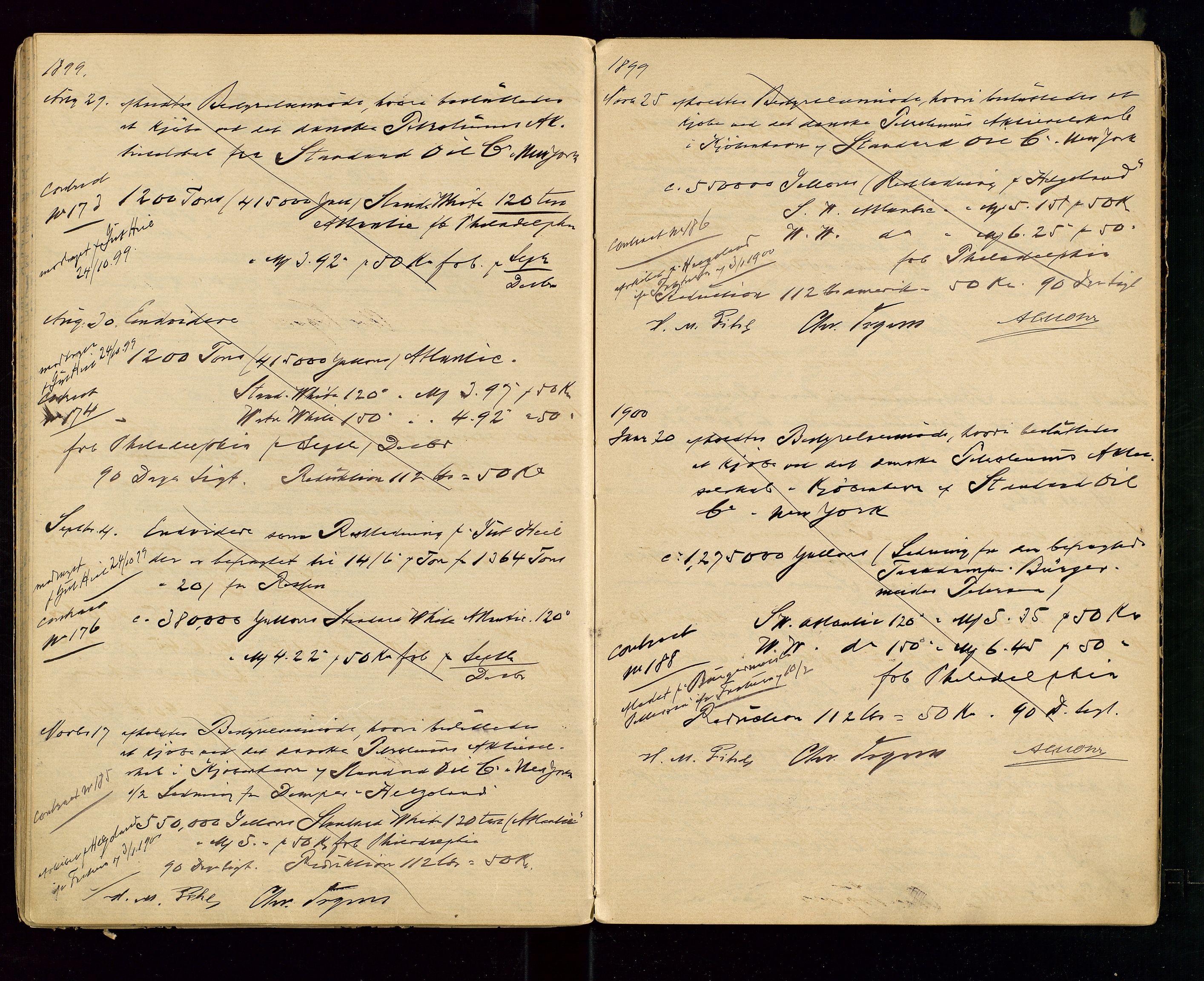SAST, PA 1533 - A/S Vestlandske Petroleumscompani, A/Aa/L0001: Generalforsamlinger og styreprotokoller, 1890-1907, s. 38