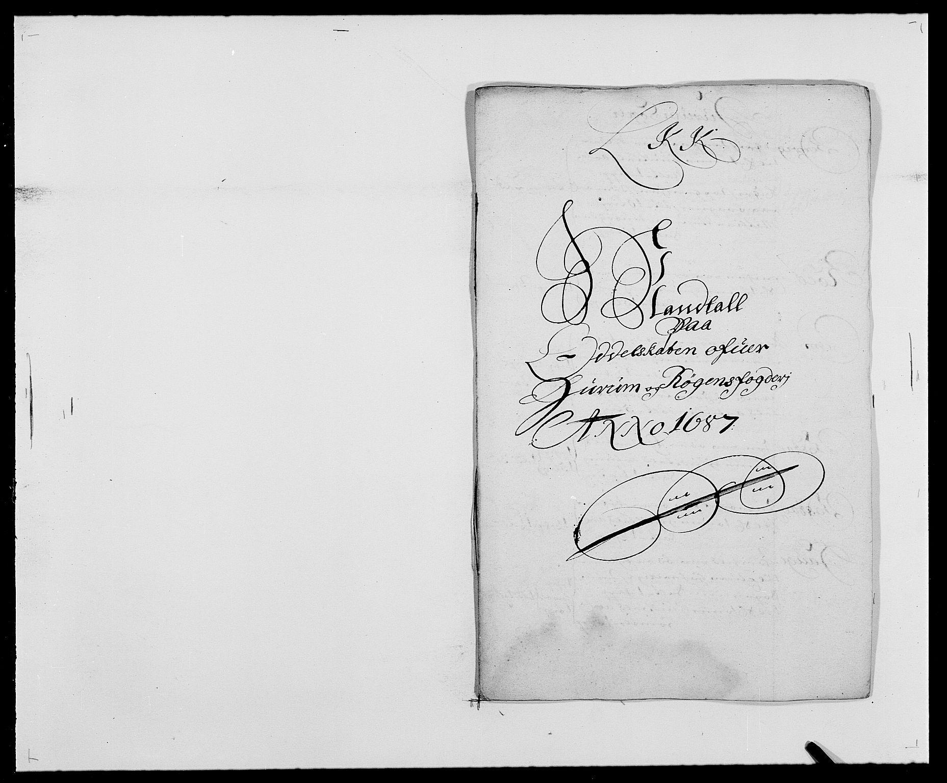 RA, Rentekammeret inntil 1814, Reviderte regnskaper, Fogderegnskap, R29/L1692: Fogderegnskap Hurum og Røyken, 1682-1687, s. 319