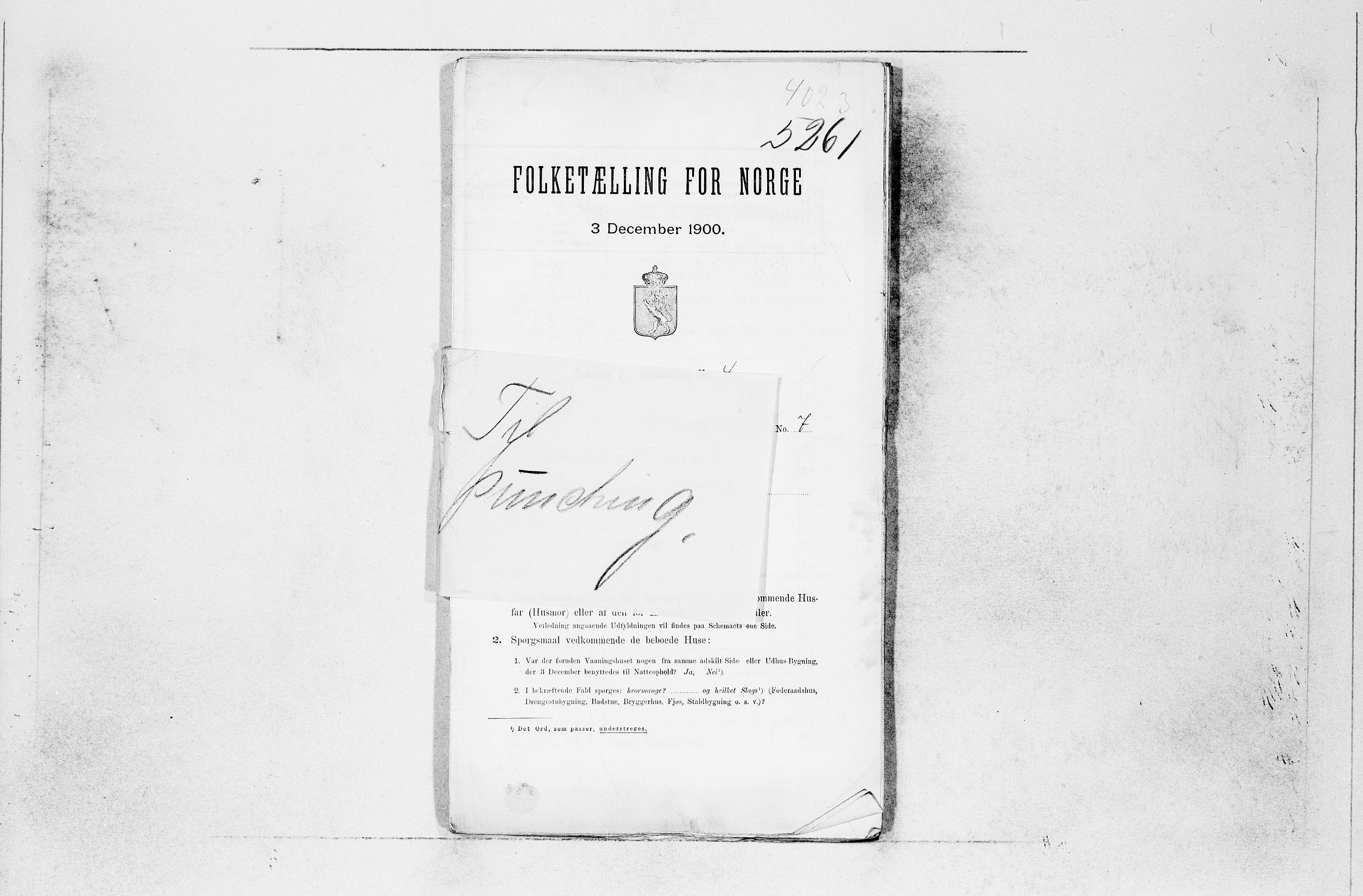 SAB, Folketelling 1900 for 1221 Stord herred, 1900, s. 20