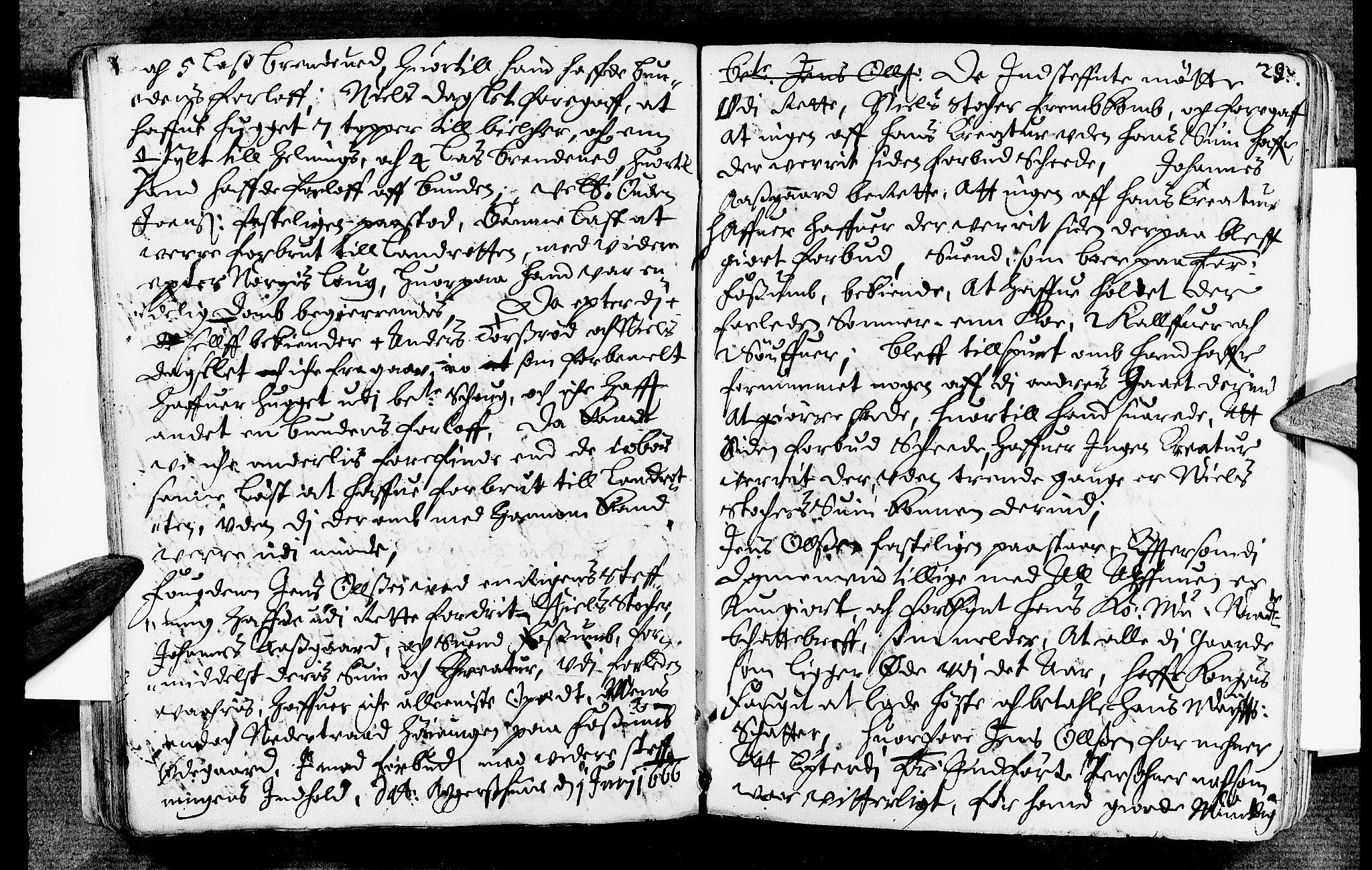 SAKO, Lier, Røyken og Hurum sorenskriveri, F/Fa/L0007: Tingbok, 1666, s. 29