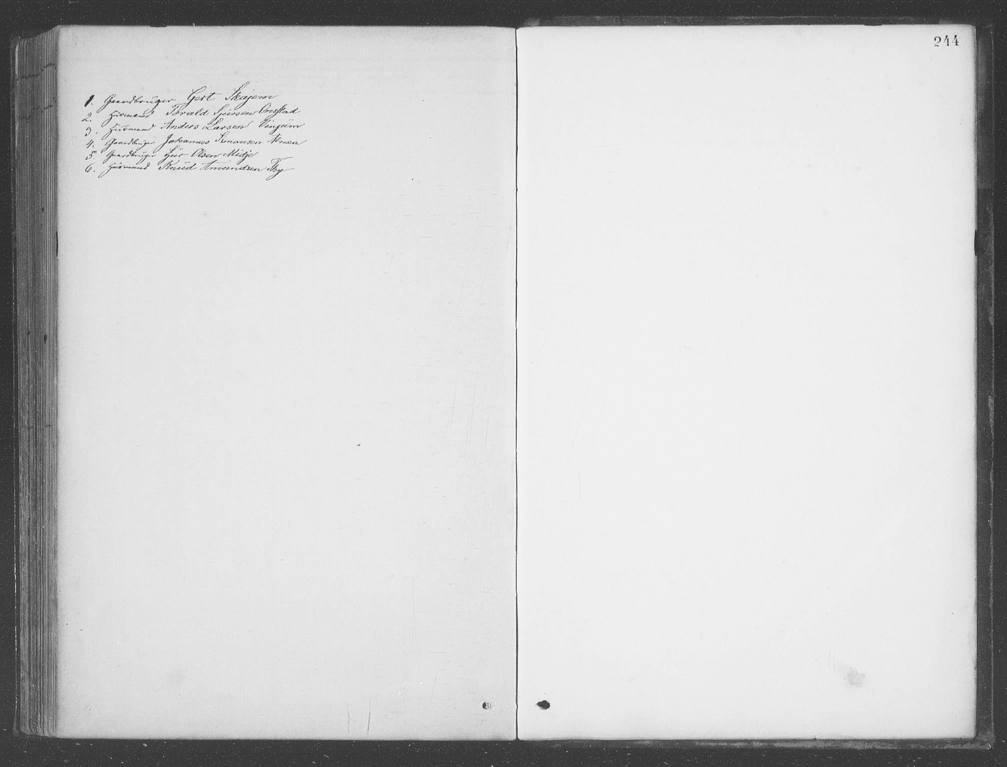 SAB, Aurland Sokneprestembete*, Ministerialbok nr. B  1, 1880-1909, s. 244