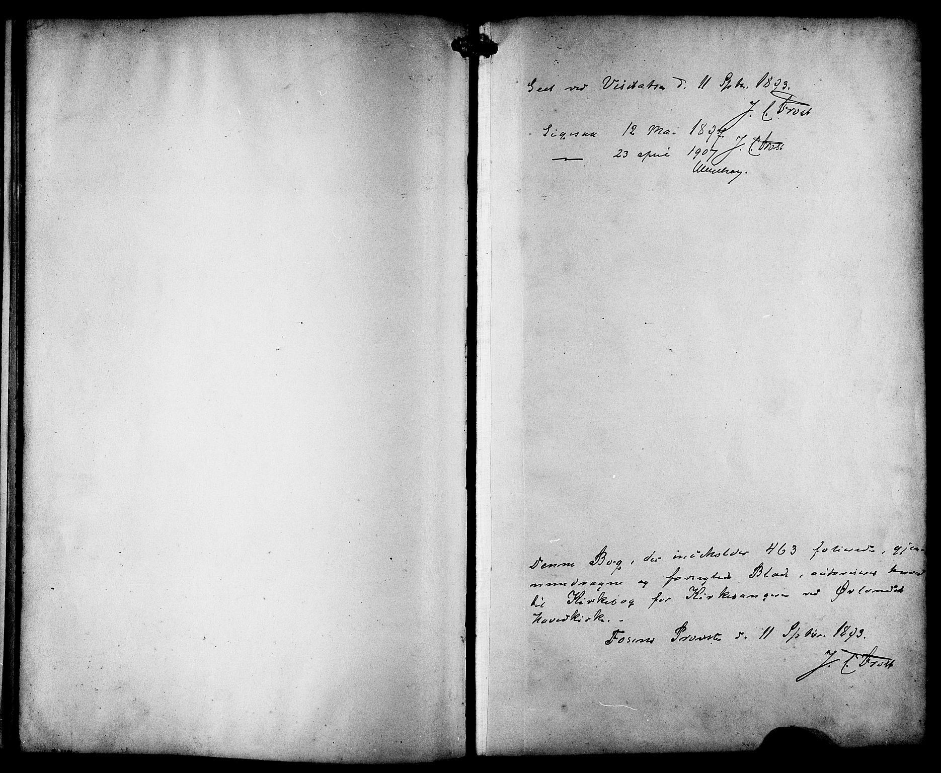 SAT, Ministerialprotokoller, klokkerbøker og fødselsregistre - Sør-Trøndelag, 659/L0746: Klokkerbok nr. 659C03, 1893-1912