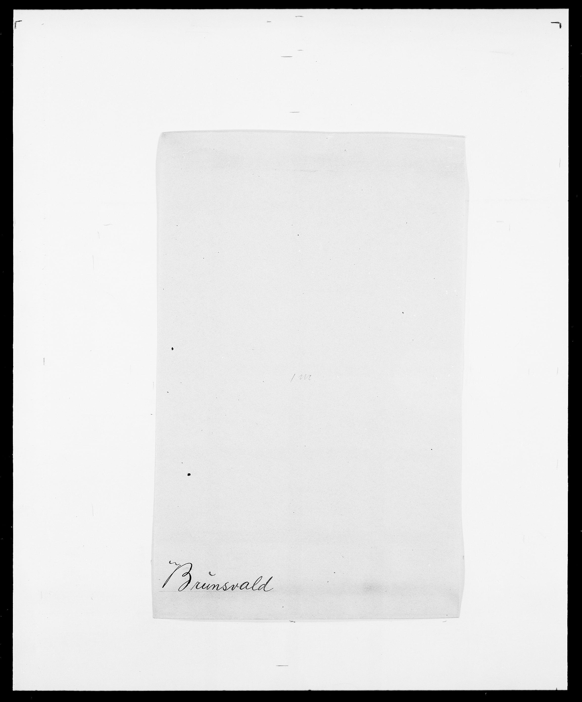 SAO, Delgobe, Charles Antoine - samling, D/Da/L0006: Brambani - Brønø, s. 843