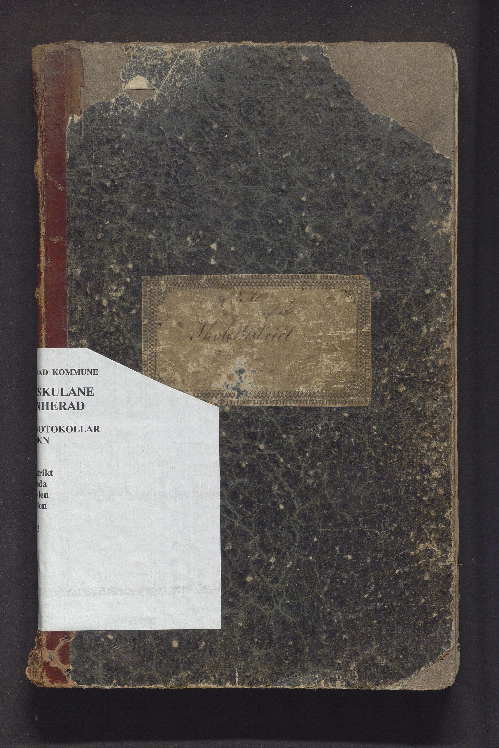 IKAH, Kvinnherad kommune. Barneskulane, F/Fd/L0001: Skuleprotokoll for Årvikstranden, Gjetingsdalen og Nordre Pollen krinsar i 4. skuledistrikt , 1846-1872