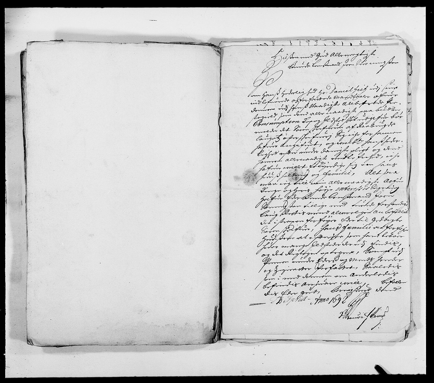 RA, Rentekammeret inntil 1814, Reviderte regnskaper, Fogderegnskap, R39/L2311: Fogderegnskap Nedenes, 1690-1692, s. 274