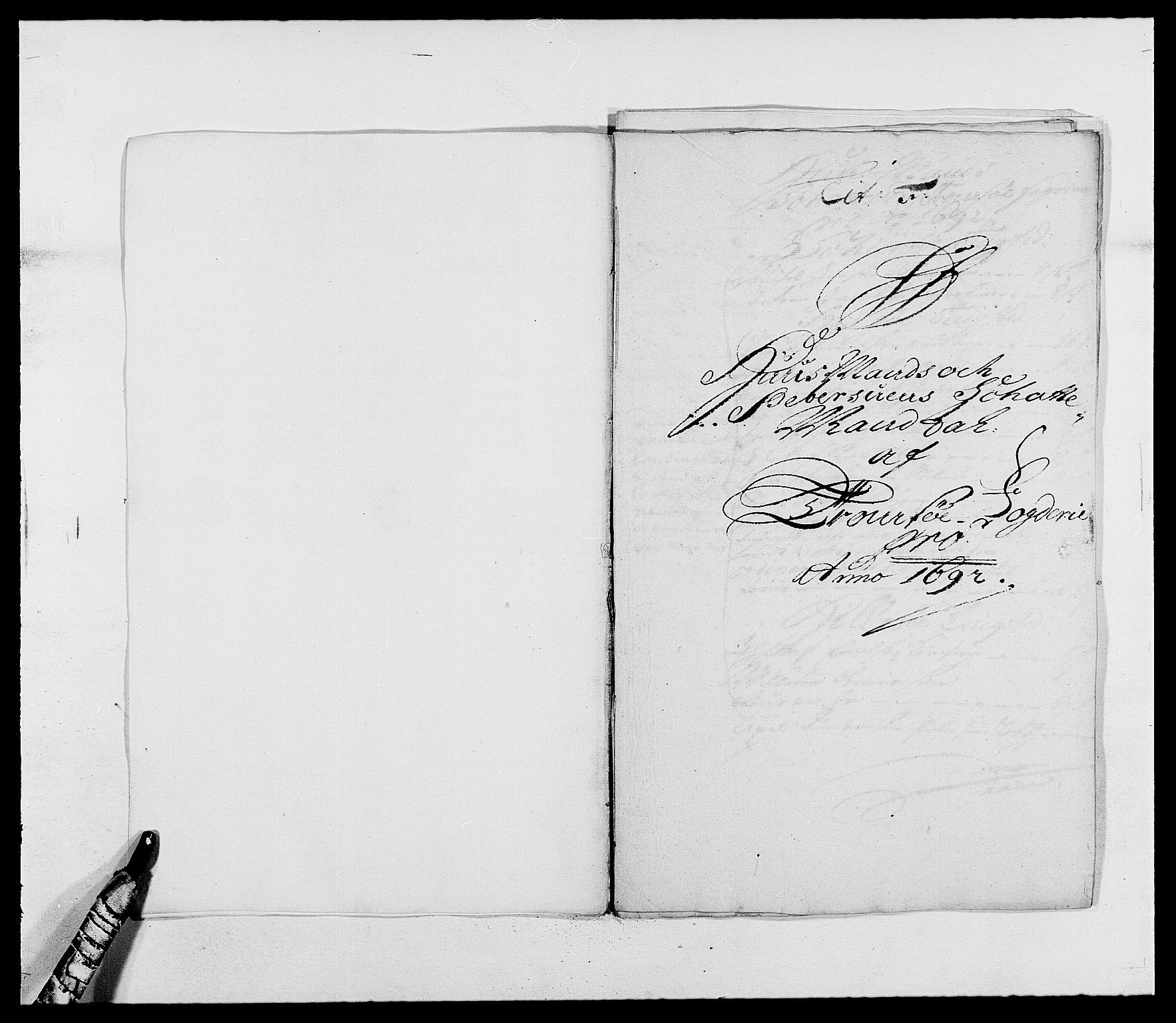 RA, Rentekammeret inntil 1814, Reviderte regnskaper, Fogderegnskap, R68/L4751: Fogderegnskap Senja og Troms, 1690-1693, s. 185