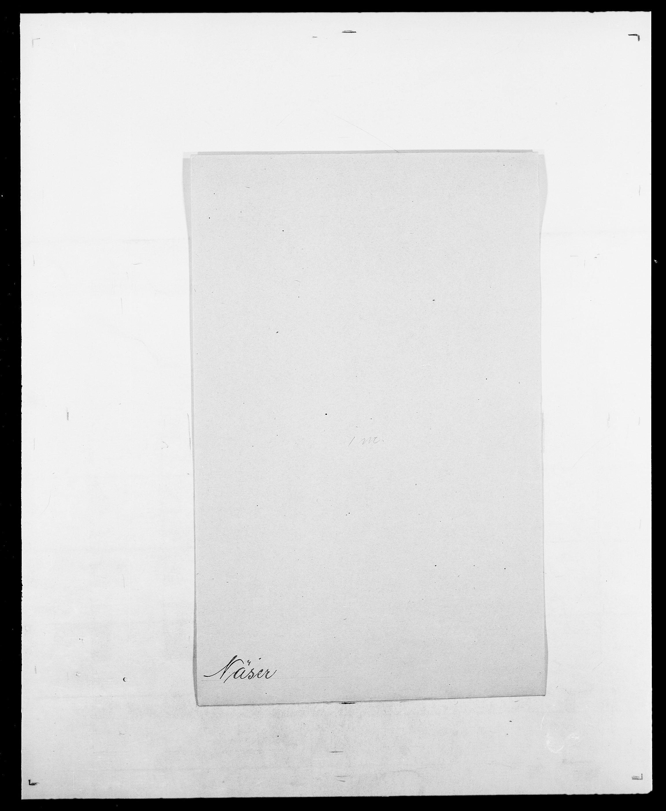 SAO, Delgobe, Charles Antoine - samling, D/Da/L0028: Naaden - Nøvik, s. 594