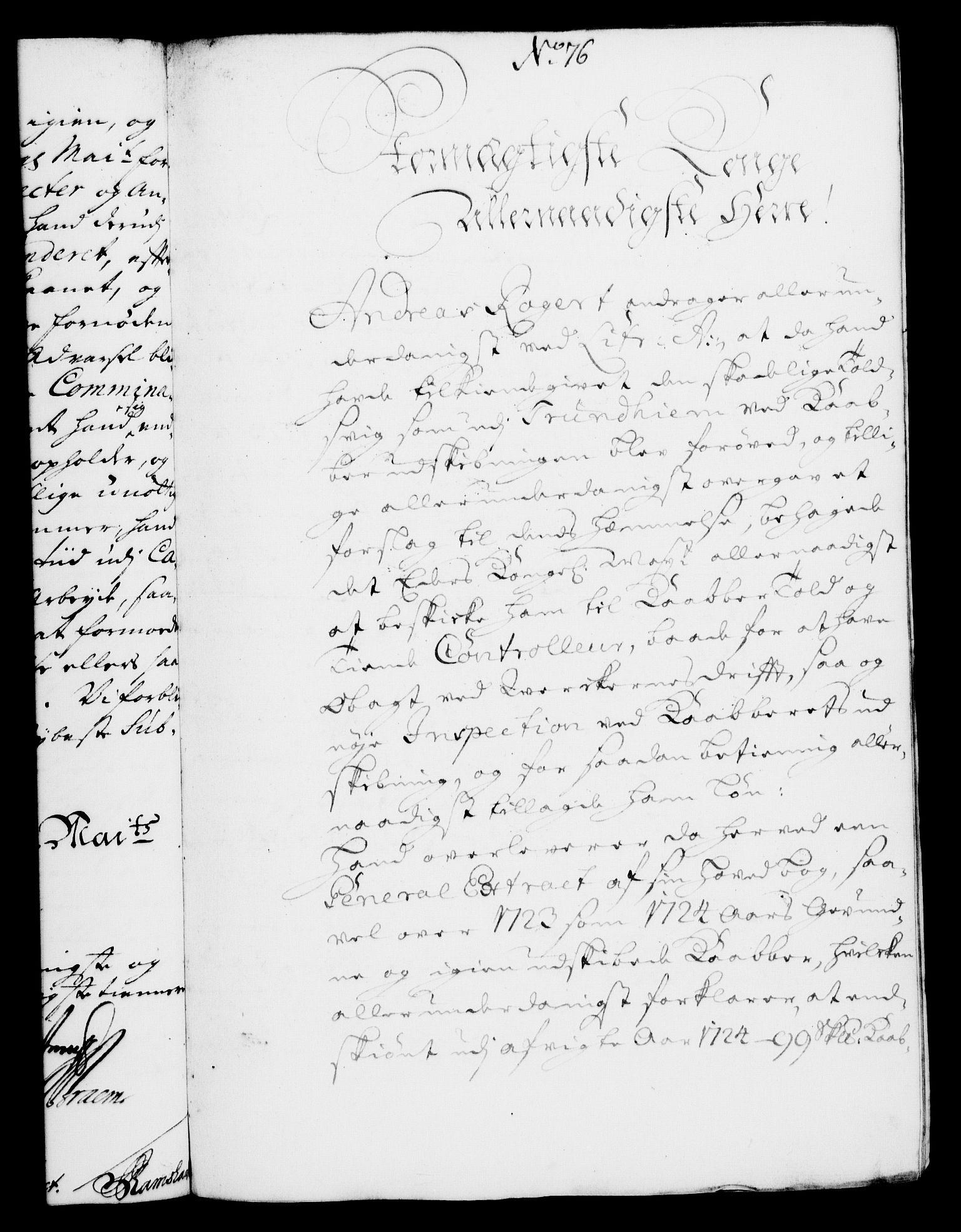 RA, Rentekammeret, Kammerkanselliet, G/Gf/Gfa/L0008: Norsk relasjons- og resolusjonsprotokoll (merket RK 52.8), 1725, s. 419