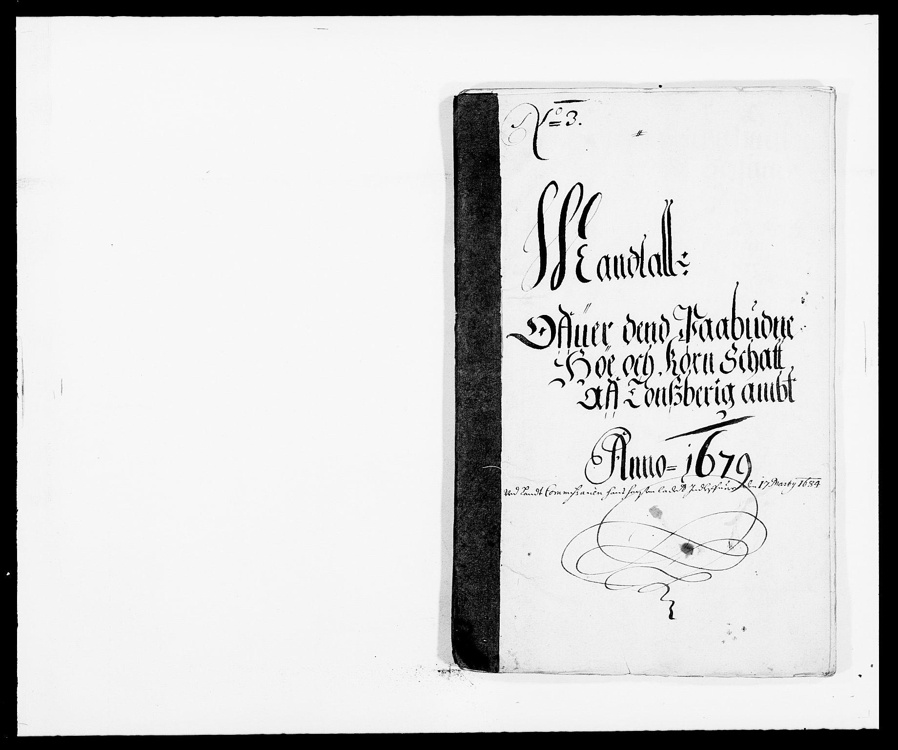 RA, Rentekammeret inntil 1814, Reviderte regnskaper, Fogderegnskap, R32/L1846: Fogderegnskap Jarlsberg grevskap, 1679-1680, s. 249