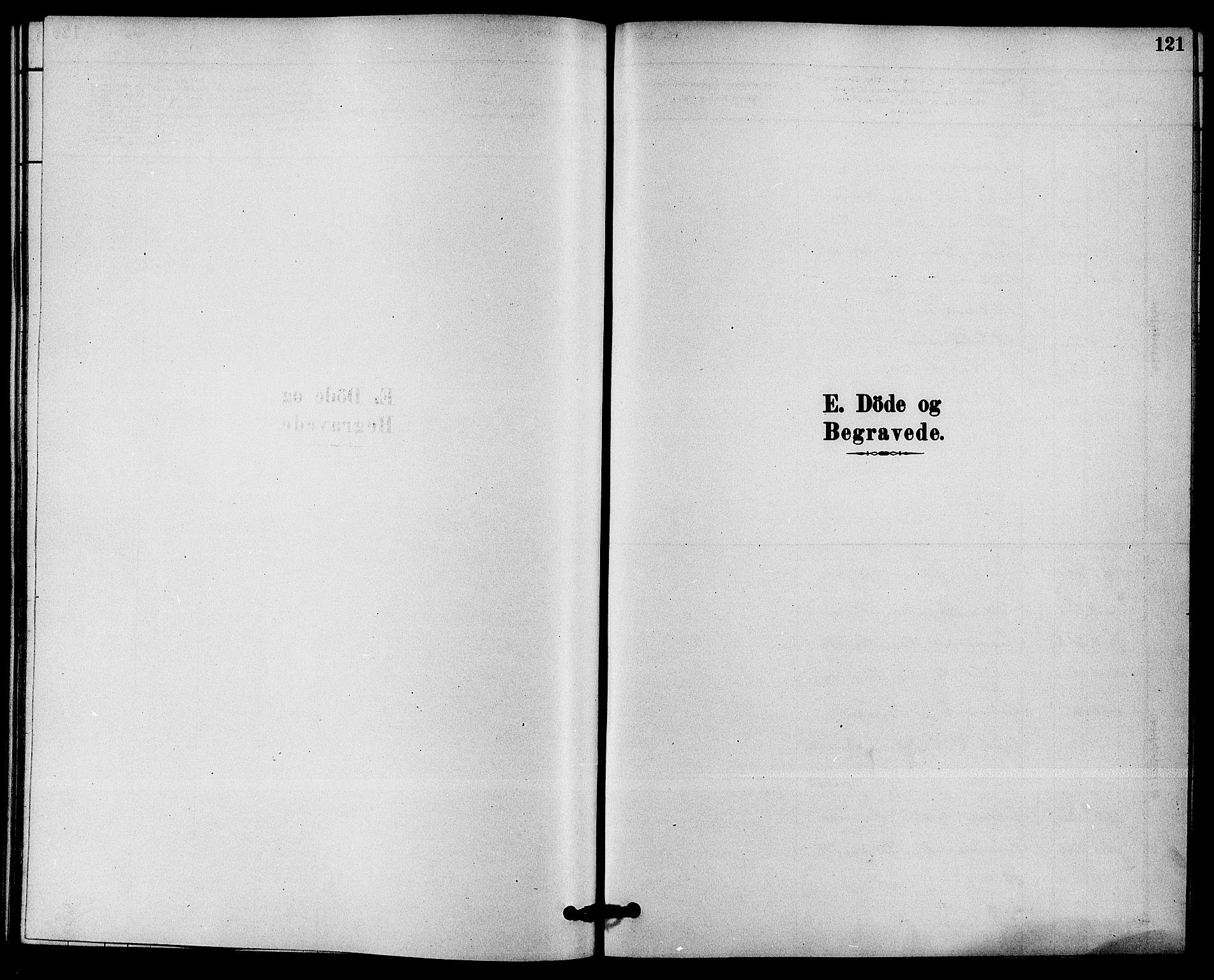 SAKO, Solum kirkebøker, F/Fb/L0001: Ministerialbok nr. II 1, 1877-1892, s. 121