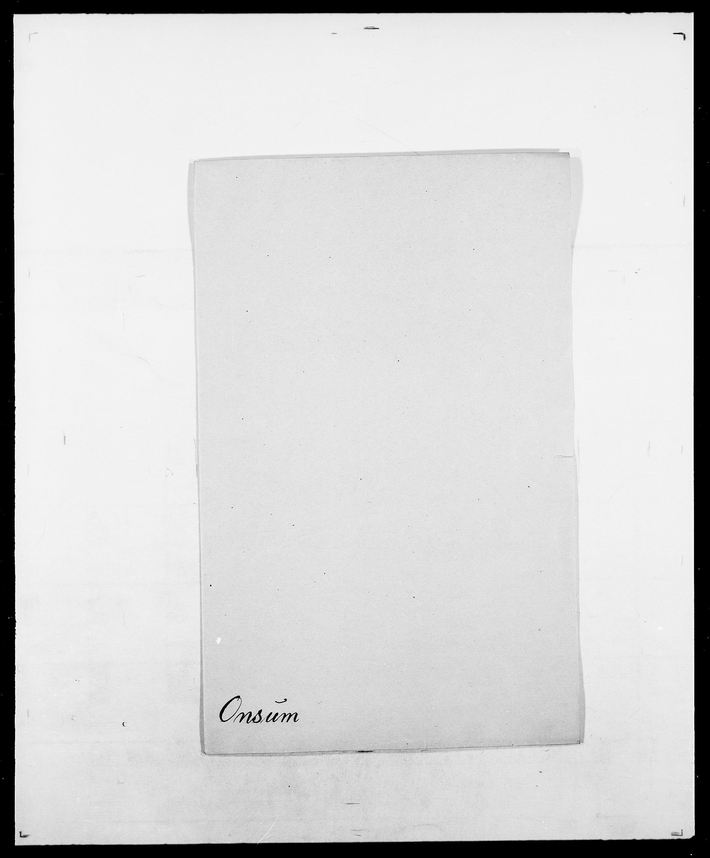 SAO, Delgobe, Charles Antoine - samling, D/Da/L0029: Obel - Oxholm, s. 300