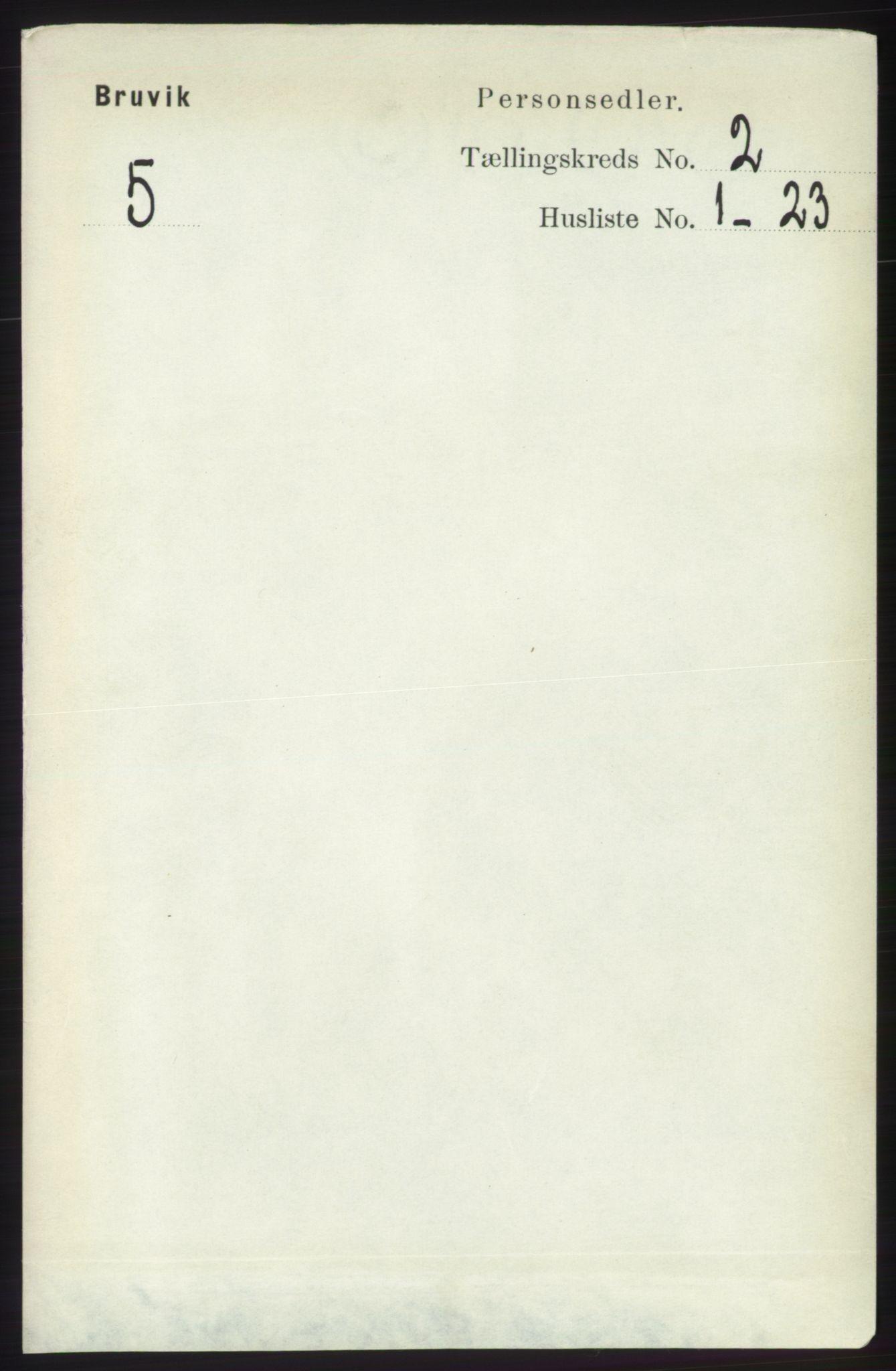 RA, Folketelling 1891 for 1251 Bruvik herred, 1891, s. 432