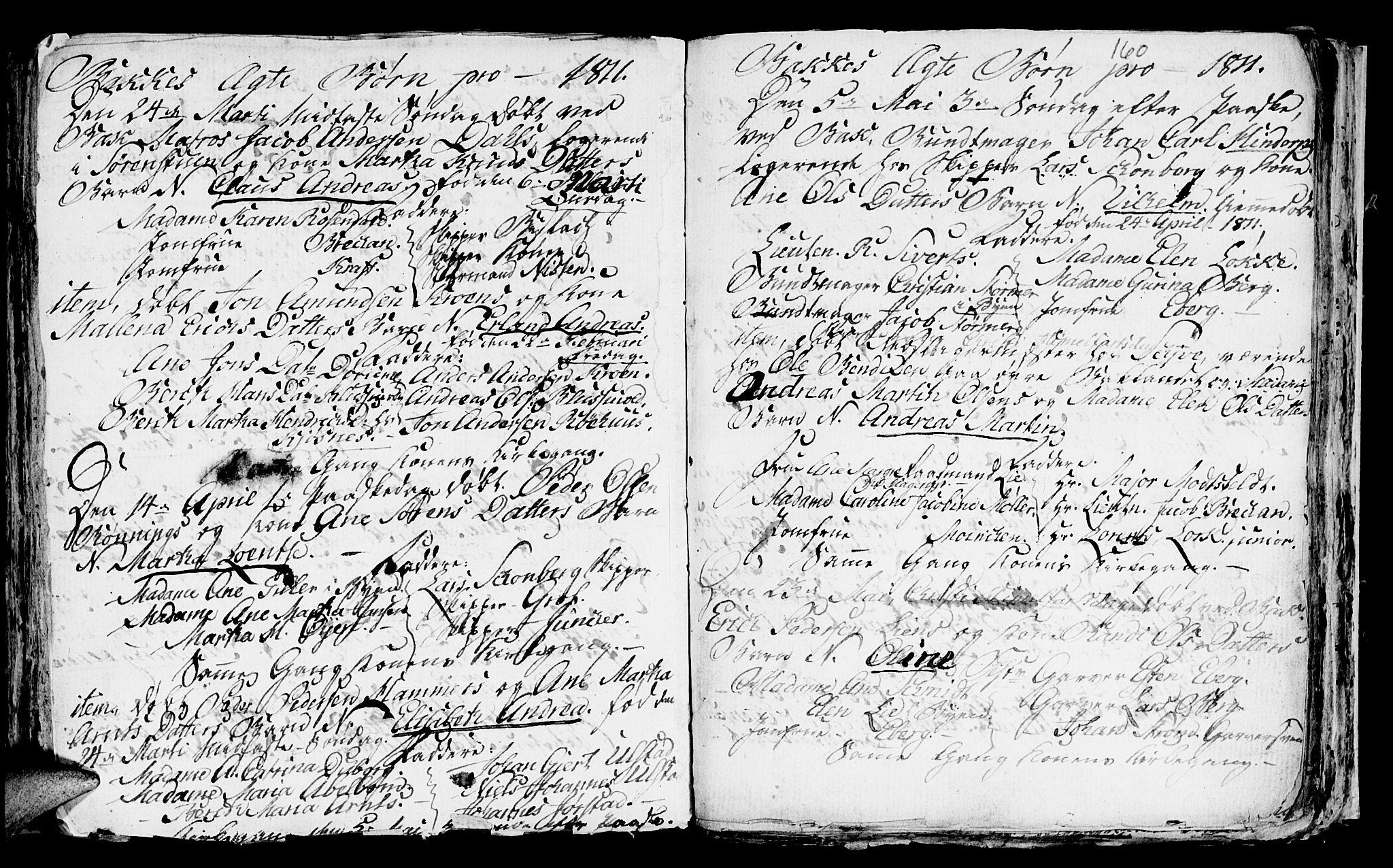 SAT, Ministerialprotokoller, klokkerbøker og fødselsregistre - Sør-Trøndelag, 604/L0218: Klokkerbok nr. 604C01, 1754-1819, s. 160