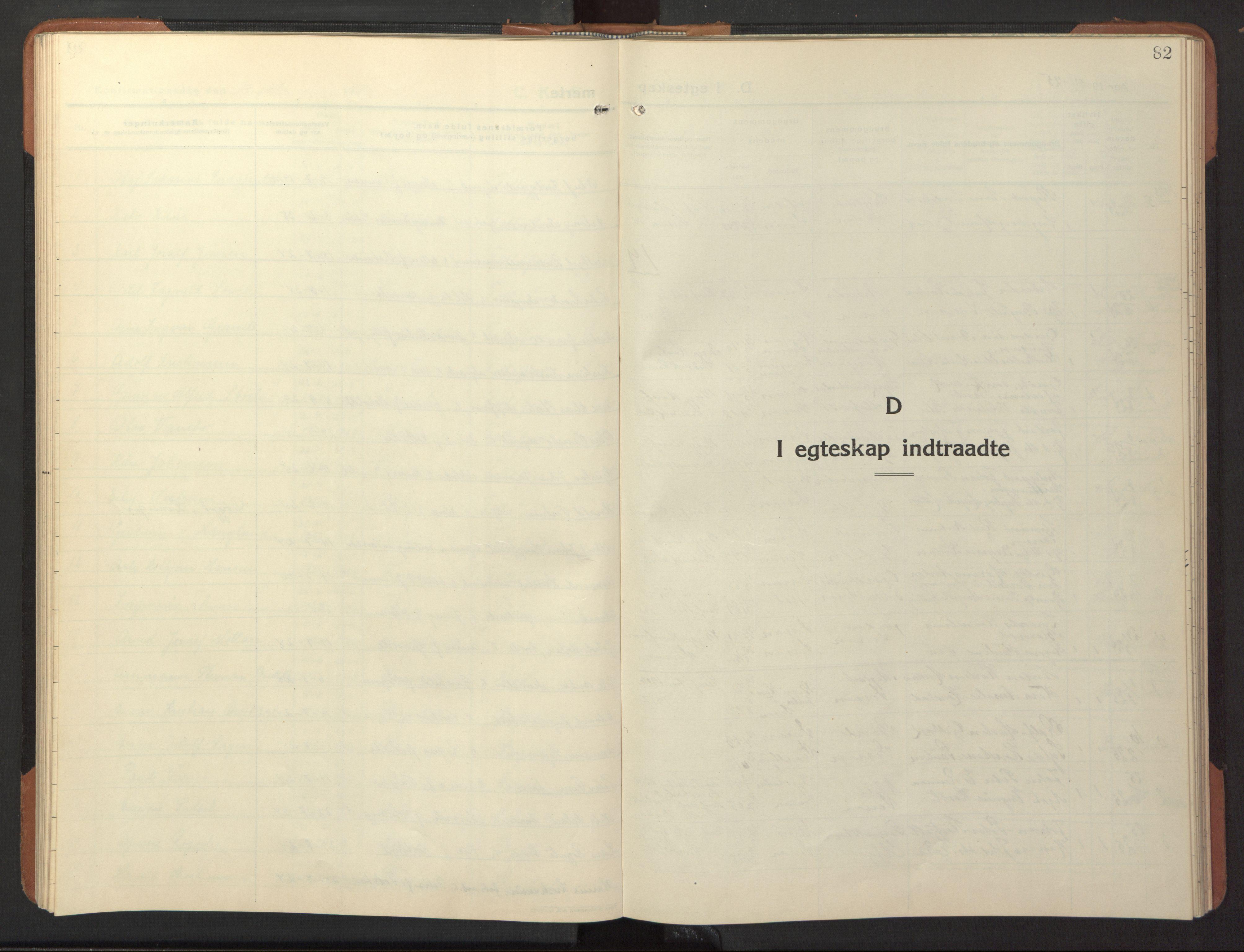 SAT, Ministerialprotokoller, klokkerbøker og fødselsregistre - Nord-Trøndelag, 744/L0425: Klokkerbok nr. 744C04, 1924-1947, s. 82
