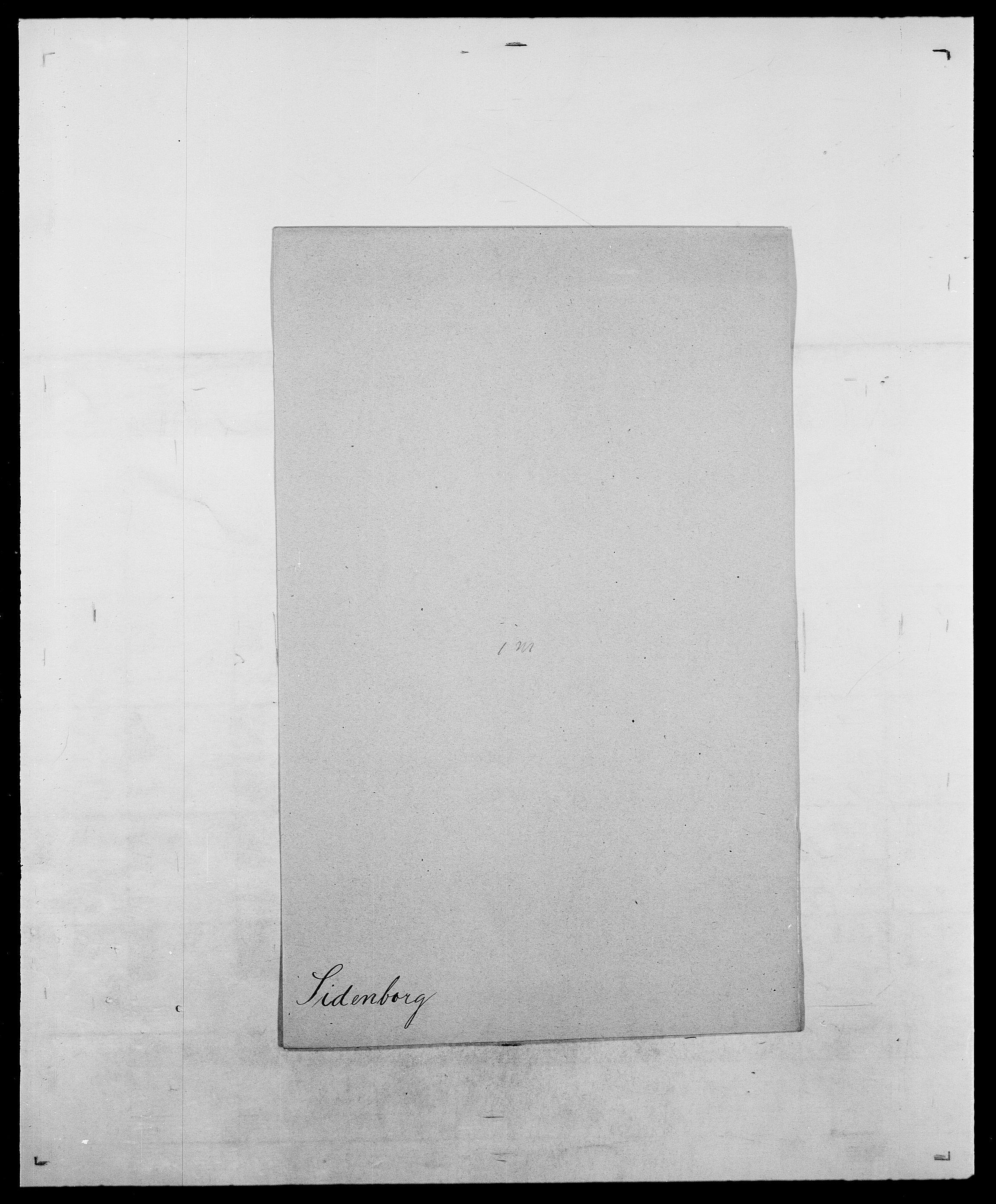 SAO, Delgobe, Charles Antoine - samling, D/Da/L0035: Schnabel - sjetman, s. 761