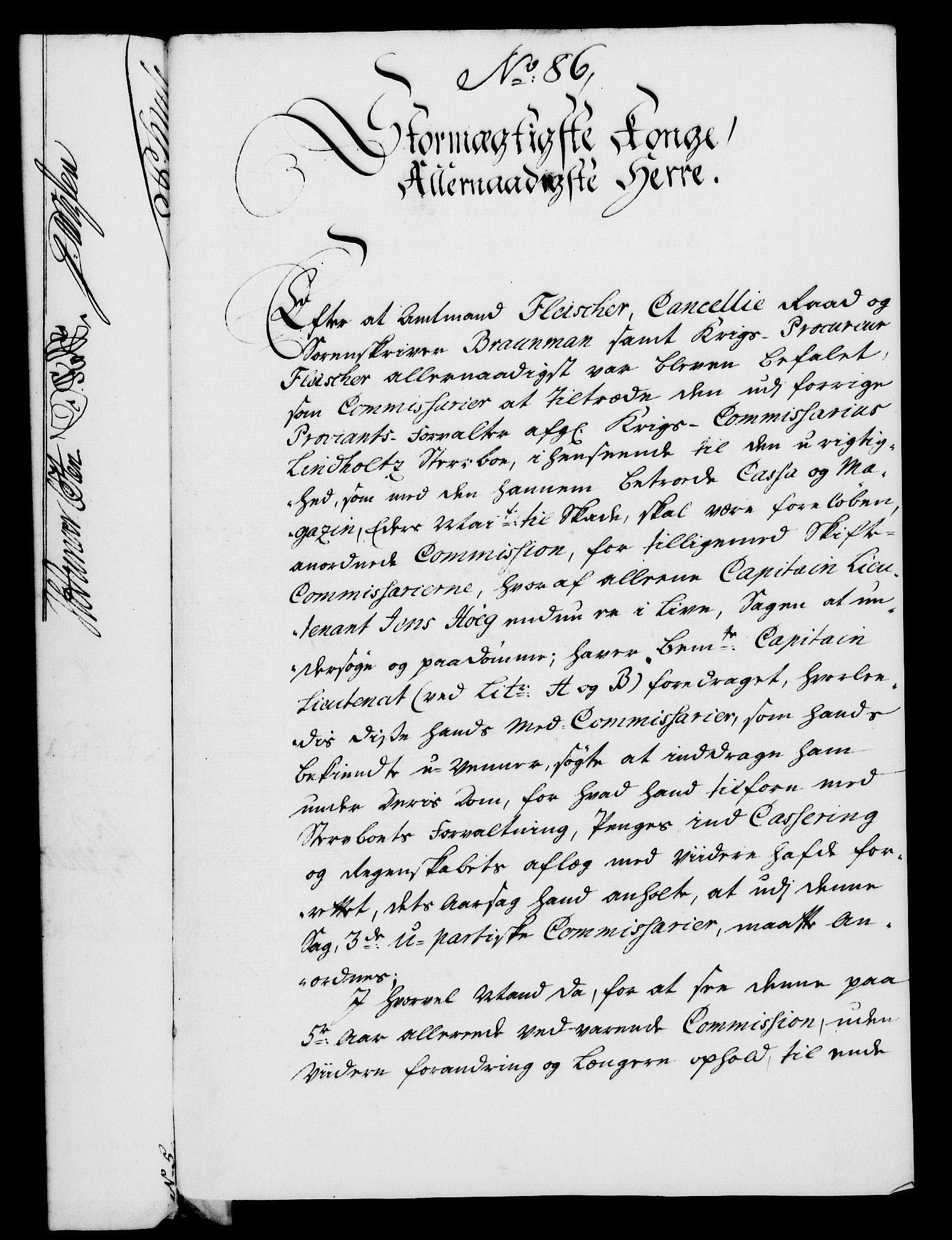 RA, Rentekammeret, Kammerkanselliet, G/Gf/Gfa/L0028: Norsk relasjons- og resolusjonsprotokoll (merket RK 52.28), 1745-1746, s. 531
