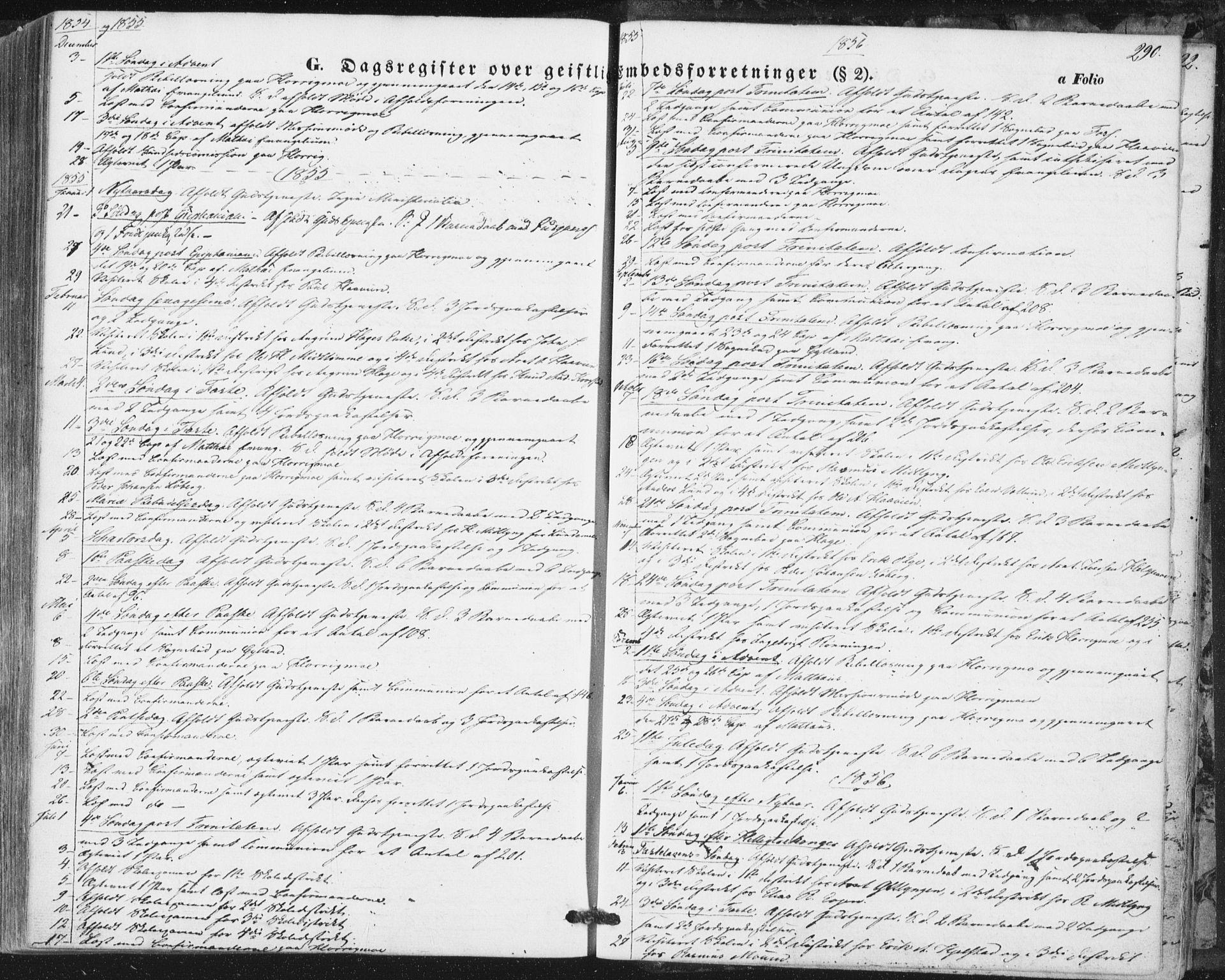 SAT, Ministerialprotokoller, klokkerbøker og fødselsregistre - Sør-Trøndelag, 692/L1103: Ministerialbok nr. 692A03, 1849-1870, s. 290