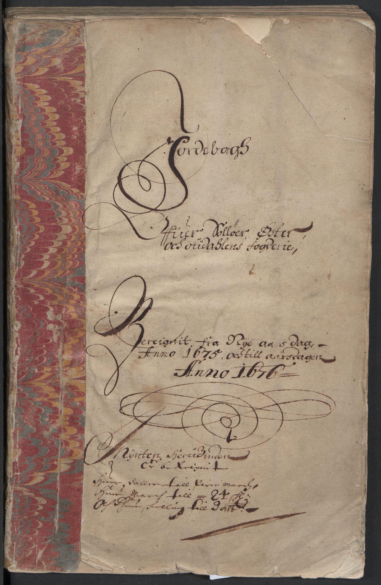 RA, Rentekammeret inntil 1814, Reviderte regnskaper, Fogderegnskap, R13/L0809: Fogderegnskap Solør, Odal og Østerdal, 1675, s. 2