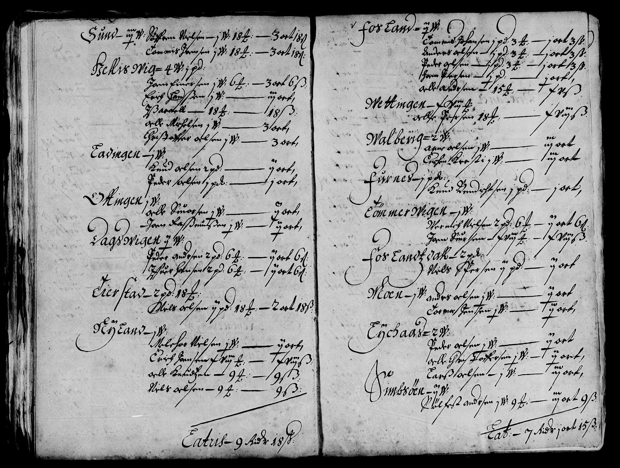 RA, Rentekammeret inntil 1814, Reviderte regnskaper, Lensregnskaper, R/Rb/Rbz/L0042: Nordlandenes len, 1656-1674