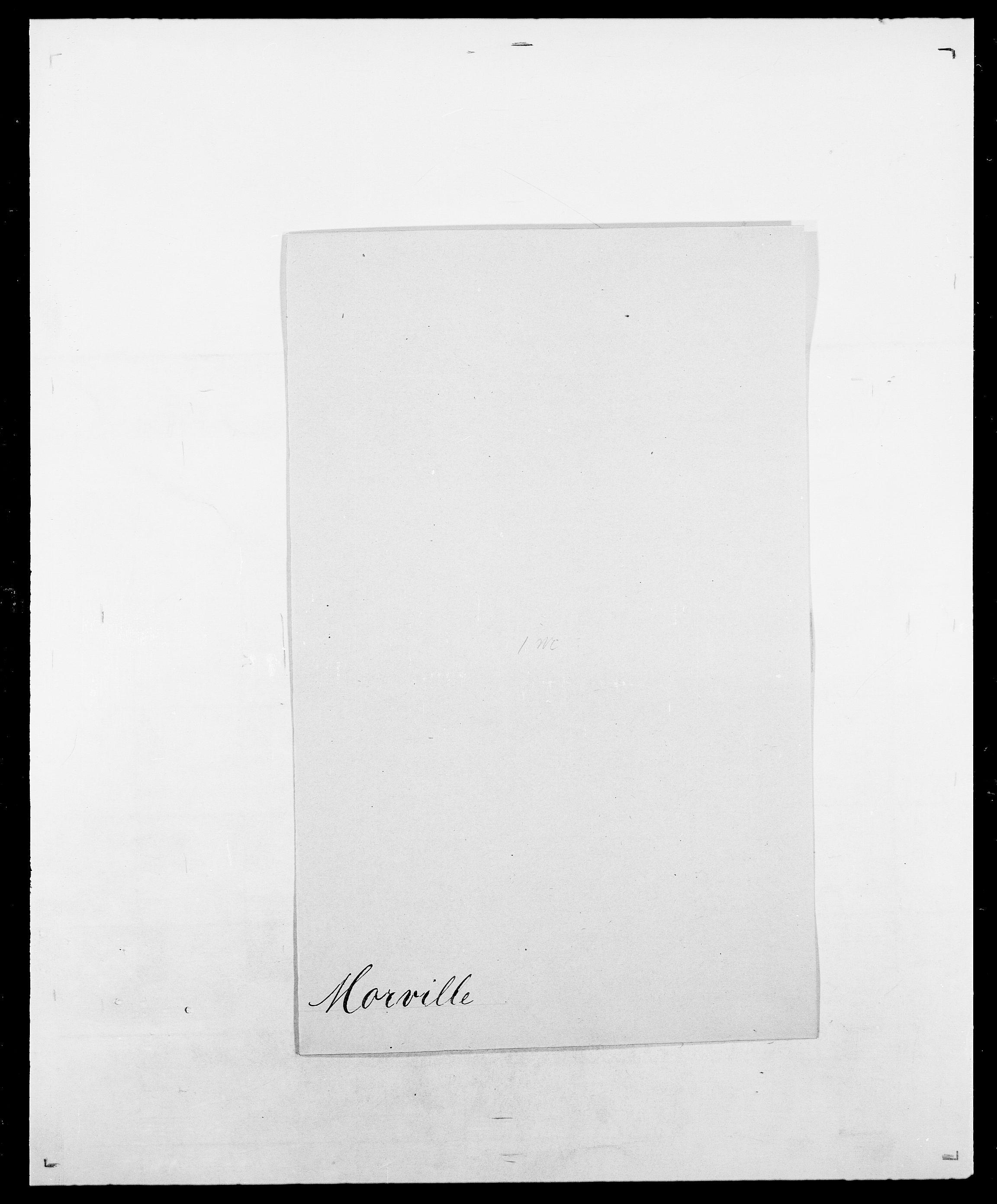 SAO, Delgobe, Charles Antoine - samling, D/Da/L0027: Morath - v. Møsting, s. 43