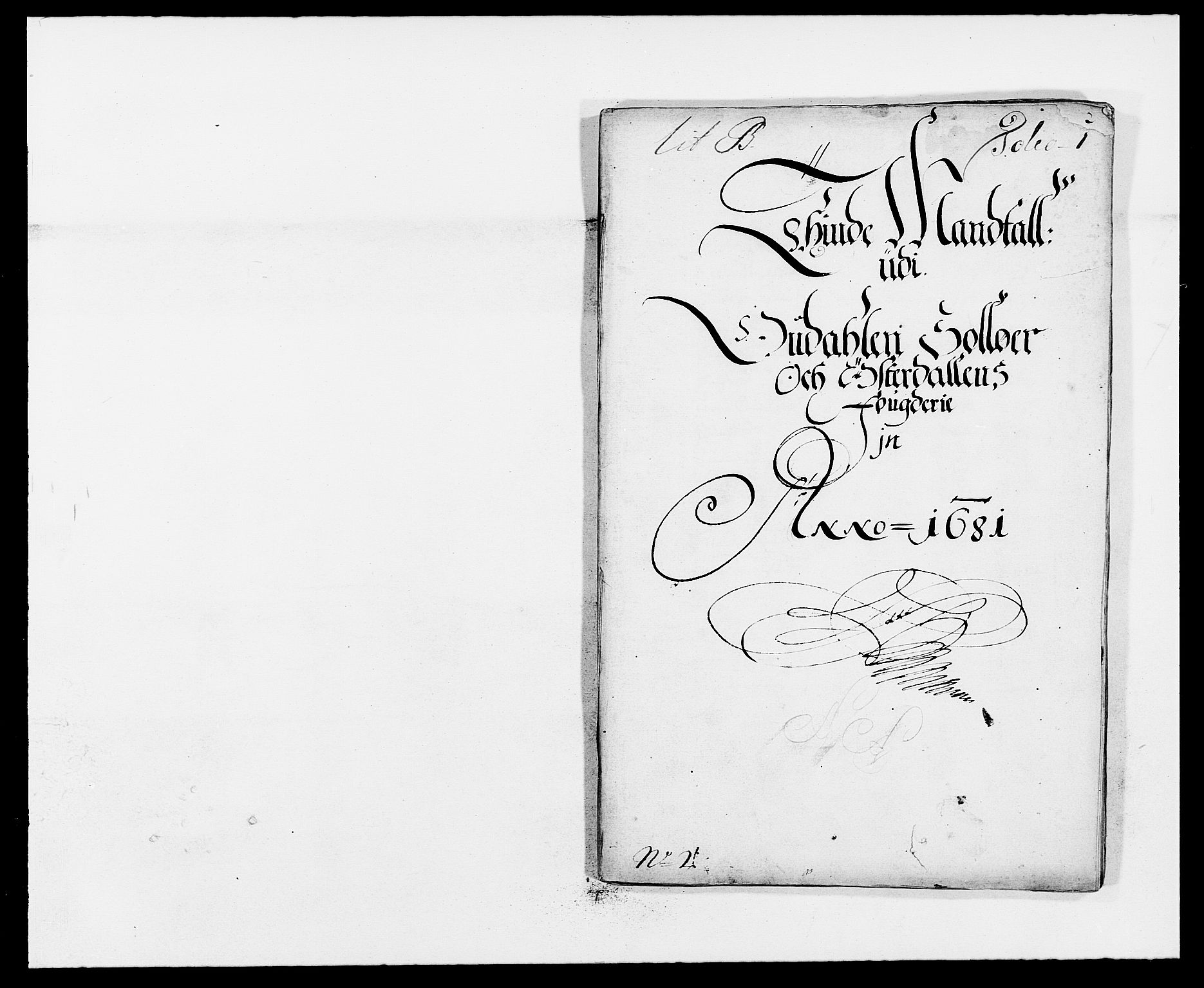 RA, Rentekammeret inntil 1814, Reviderte regnskaper, Fogderegnskap, R13/L0818: Fogderegnskap Solør, Odal og Østerdal, 1681, s. 158