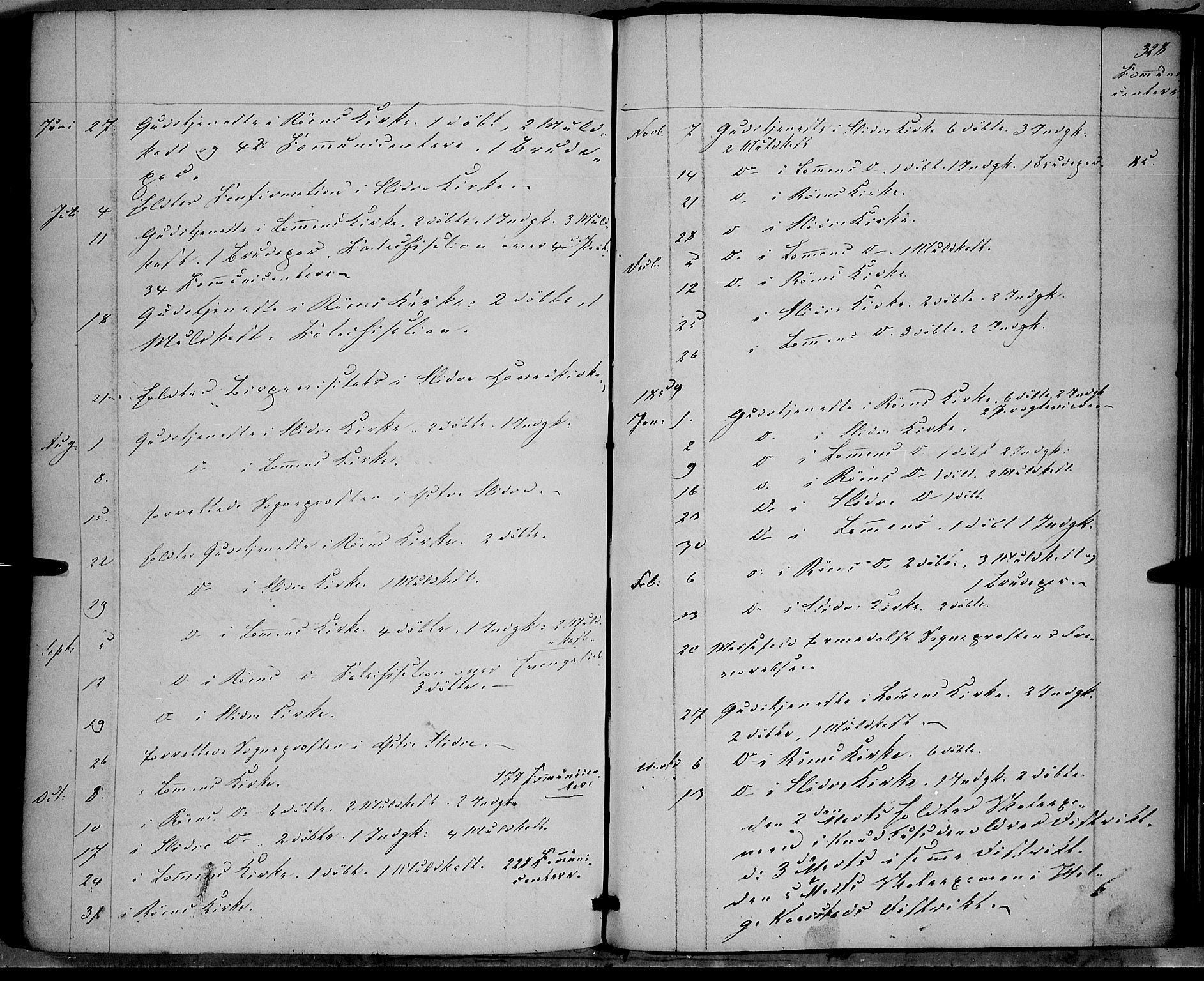 SAH, Vestre Slidre prestekontor, Ministerialbok nr. 2, 1856-1864, s. 328