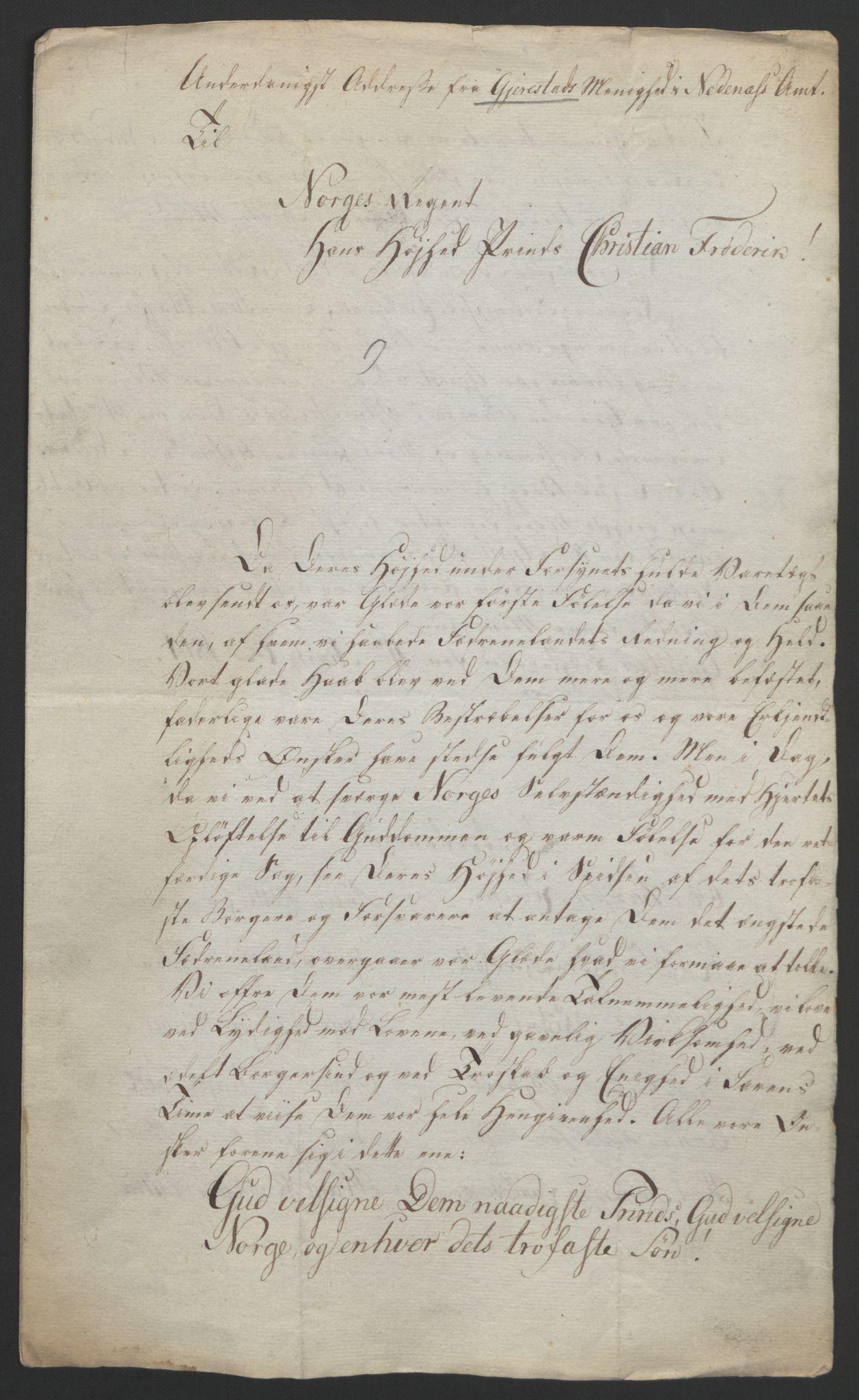 RA, Statsrådssekretariatet, D/Db/L0008: Fullmakter for Eidsvollsrepresentantene i 1814. , 1814, s. 82