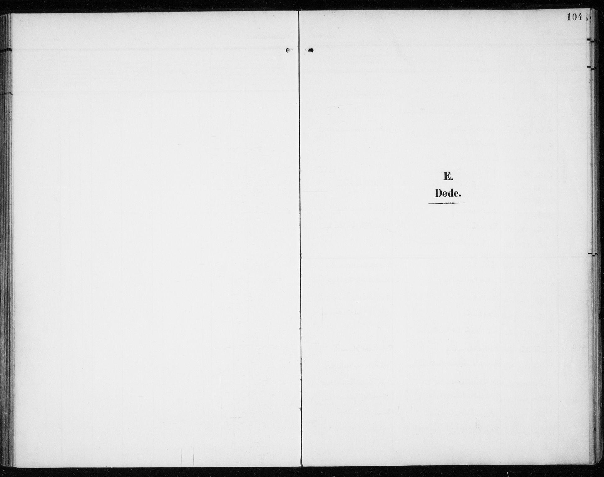 SATØ, Tromsø sokneprestkontor/stiftsprosti/domprosti, G/Ga/L0018kirke: Ministerialbok nr. 18, 1907-1917, s. 104