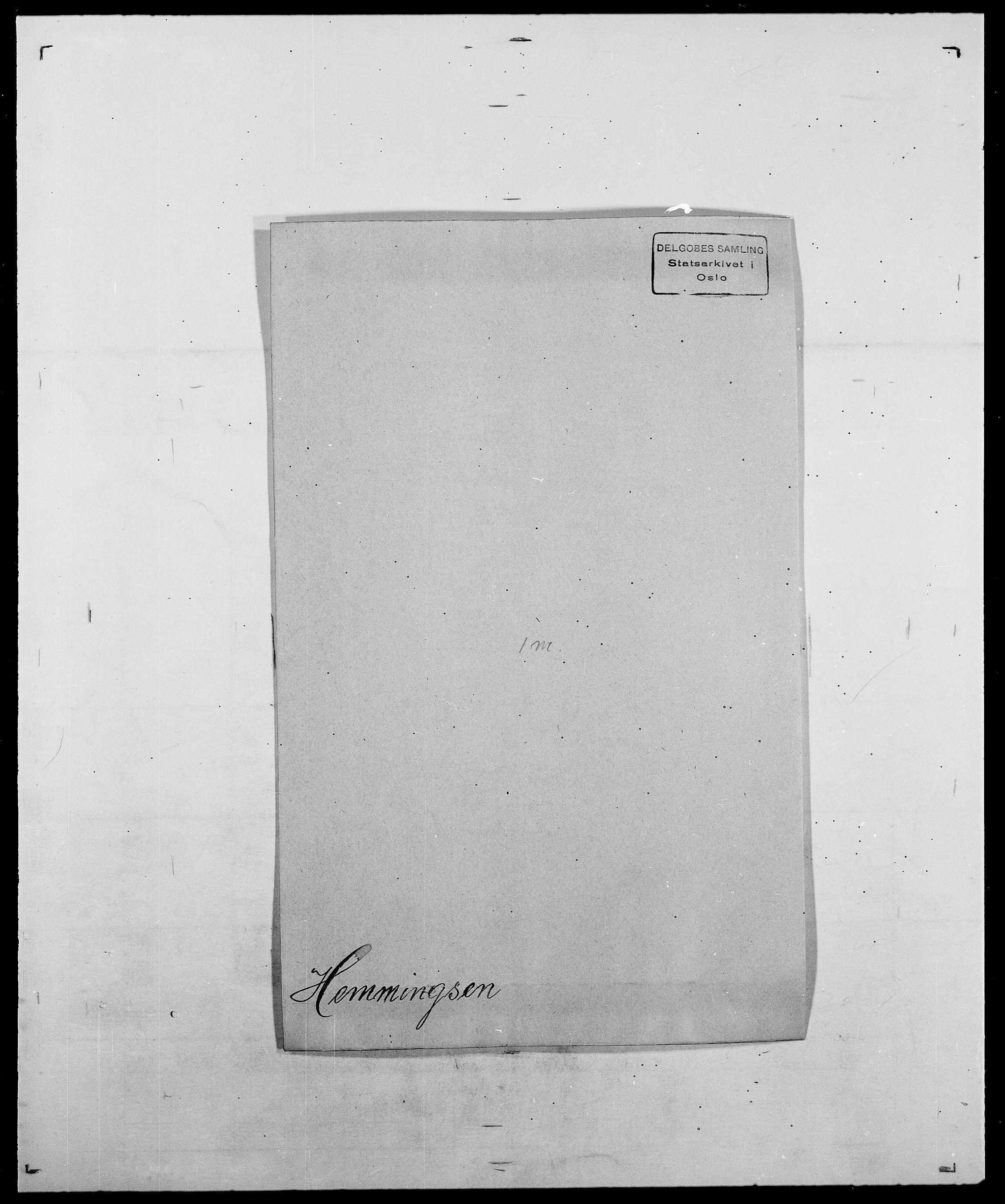 SAO, Delgobe, Charles Antoine - samling, D/Da/L0017: Helander - Hjørne, s. 159