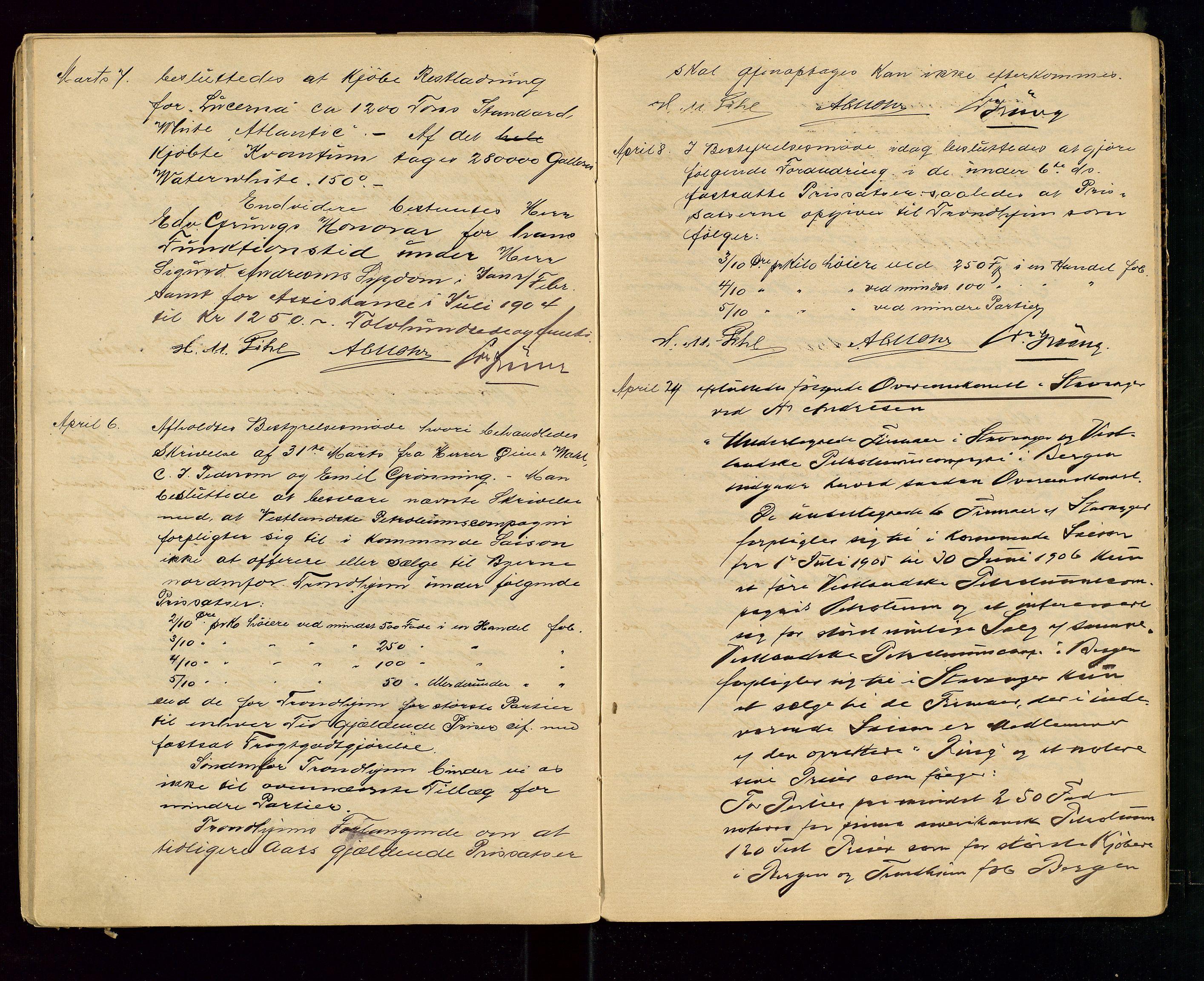 SAST, PA 1533 - A/S Vestlandske Petroleumscompani, A/Aa/L0001: Generalforsamlinger og styreprotokoller, 1890-1907, s. 56