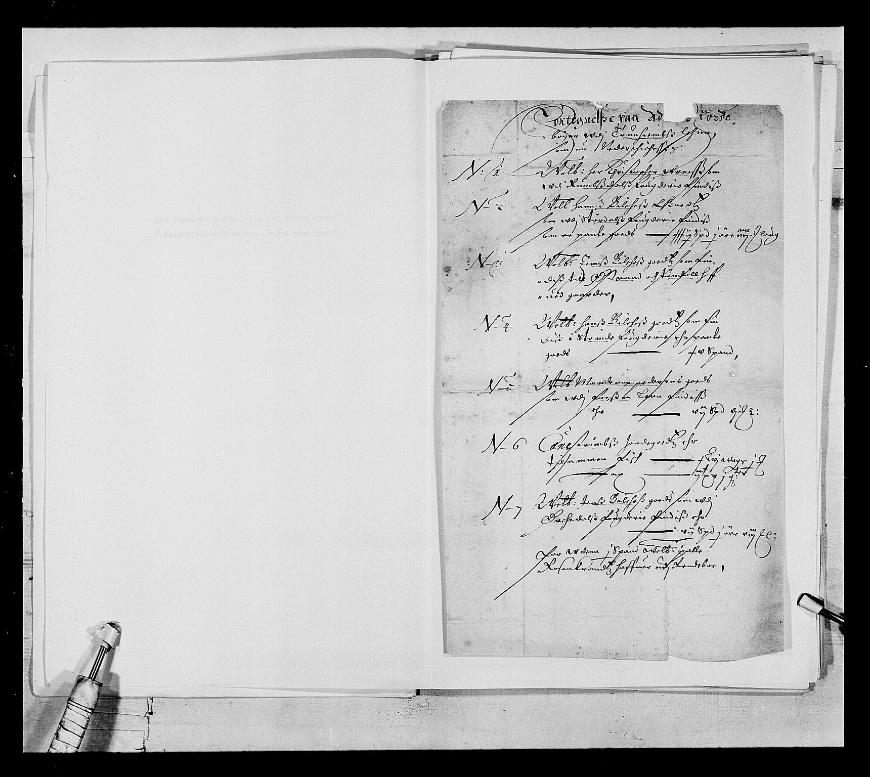 RA, Stattholderembetet 1572-1771, Ek/L0021: Jordebøker 1633-1658:, 1648, s. 1