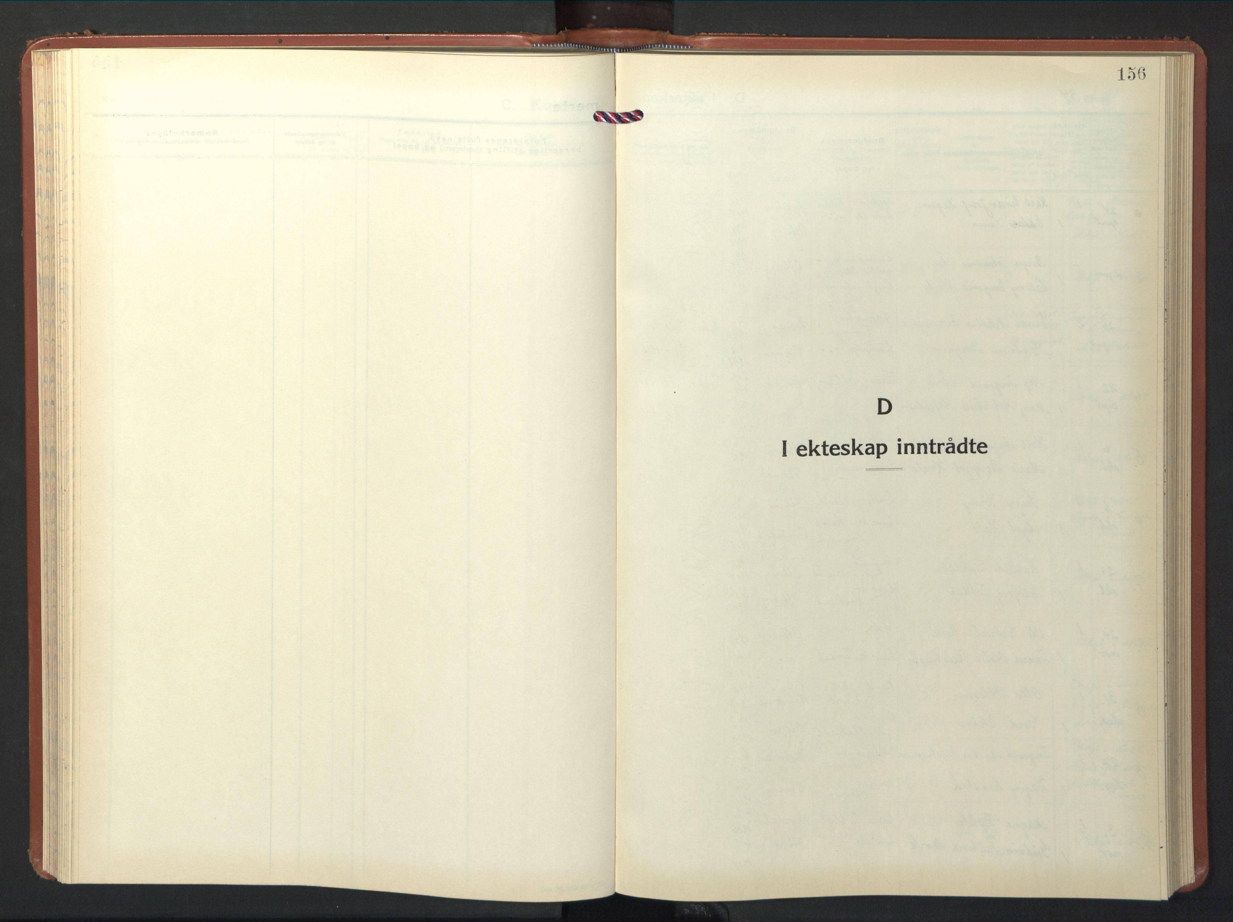 SAT, Ministerialprotokoller, klokkerbøker og fødselsregistre - Nord-Trøndelag, 774/L0631: Klokkerbok nr. 774C02, 1934-1950, s. 156