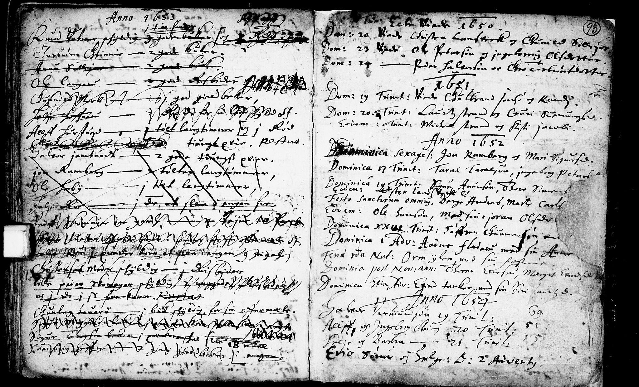 SAKO, Heddal kirkebøker, F/Fa/L0001: Ministerialbok nr. I 1, 1648-1699, s. 93