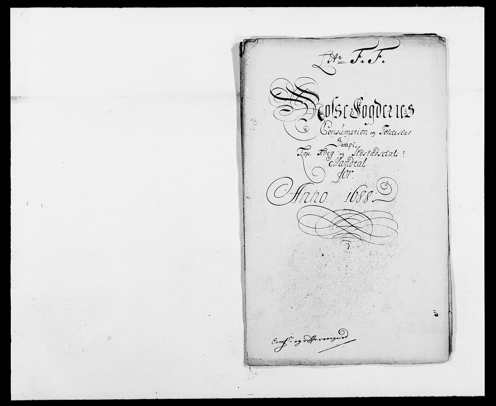 RA, Rentekammeret inntil 1814, Reviderte regnskaper, Fogderegnskap, R02/L0106: Fogderegnskap Moss og Verne kloster, 1688-1691, s. 124