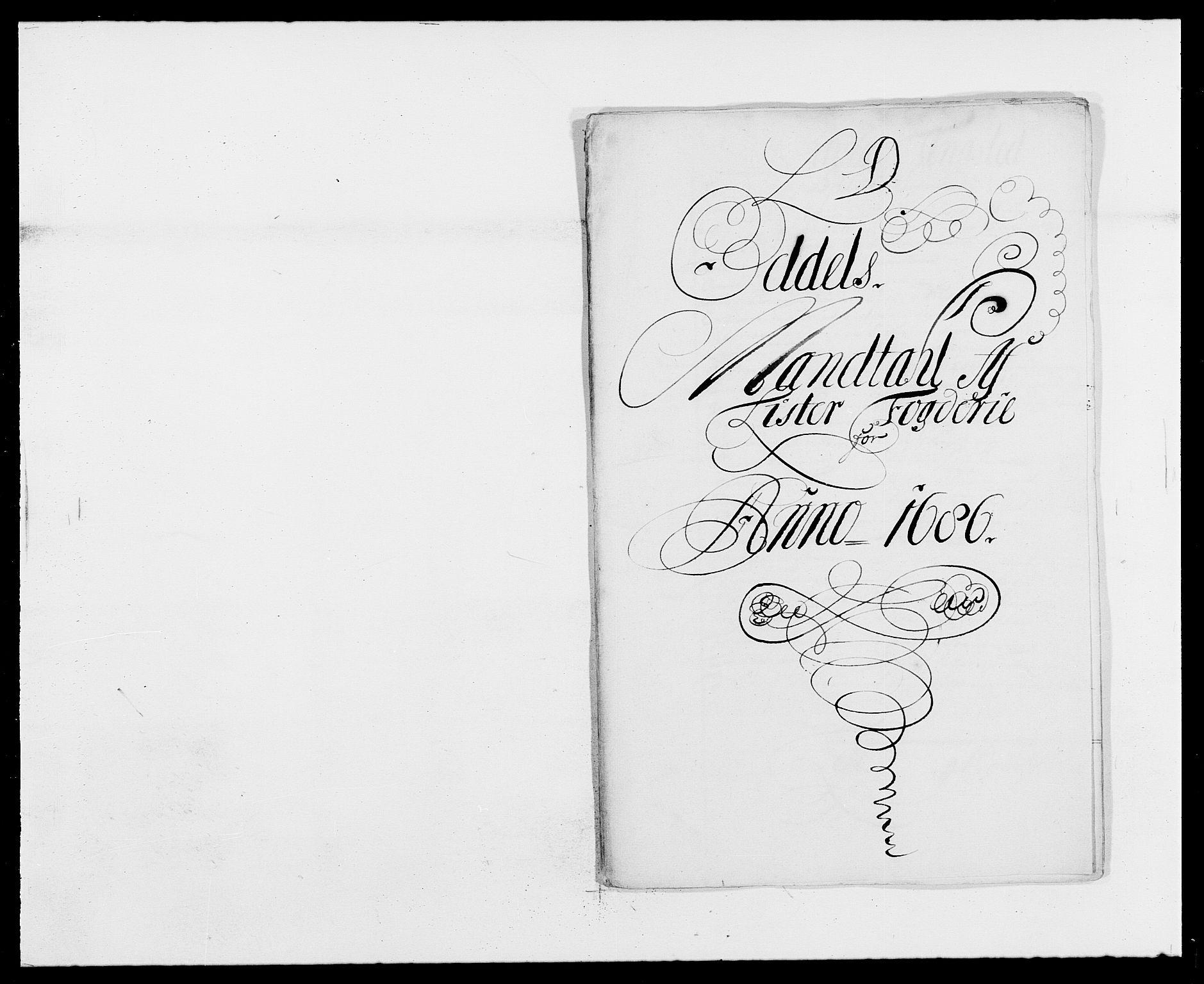 RA, Rentekammeret inntil 1814, Reviderte regnskaper, Fogderegnskap, R41/L2534: Fogderegnskap Lista, 1686-1688, s. 56