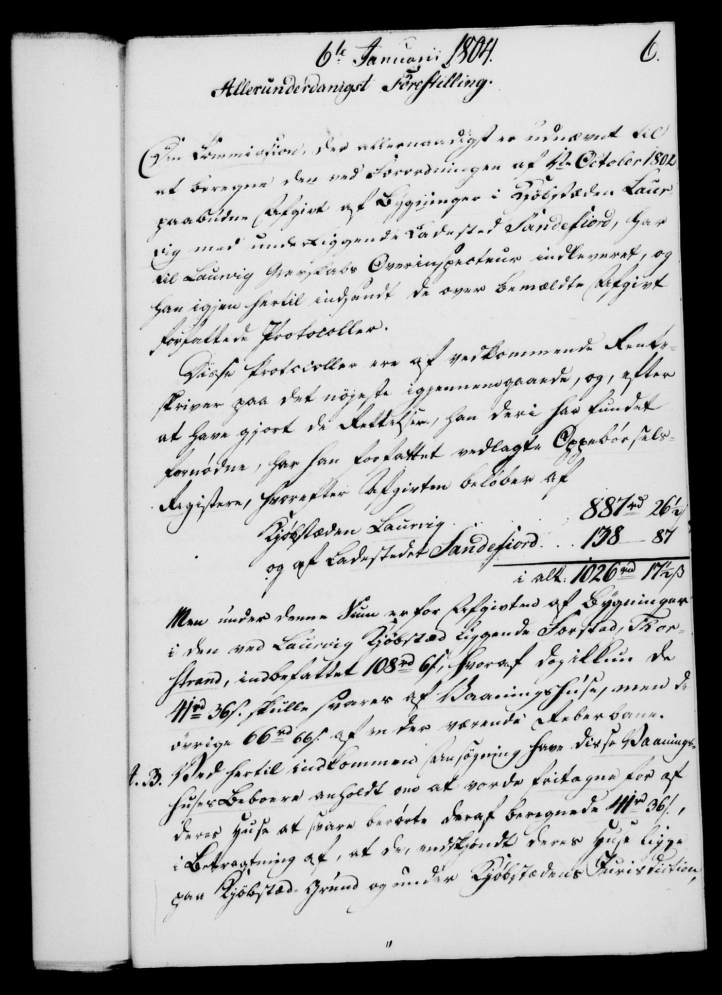 RA, Rentekammeret, Kammerkanselliet, G/Gf/Gfa/L0086: Norsk relasjons- og resolusjonsprotokoll (merket RK 52.86), 1804, s. 92