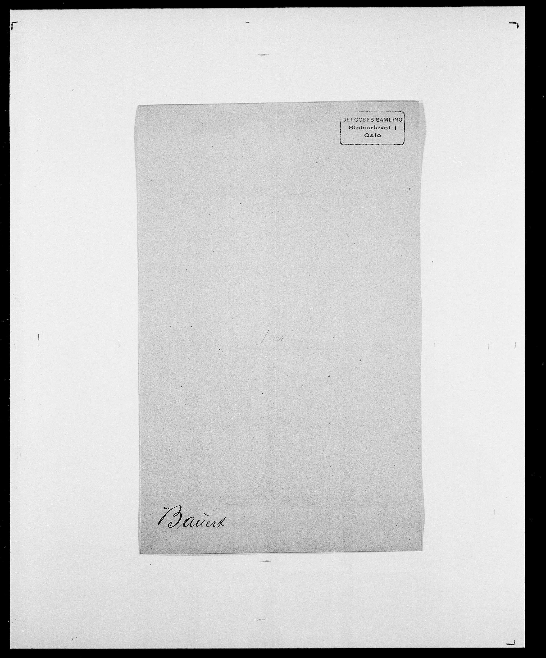 SAO, Delgobe, Charles Antoine - samling, D/Da/L0003: Barca - Bergen, s. 441