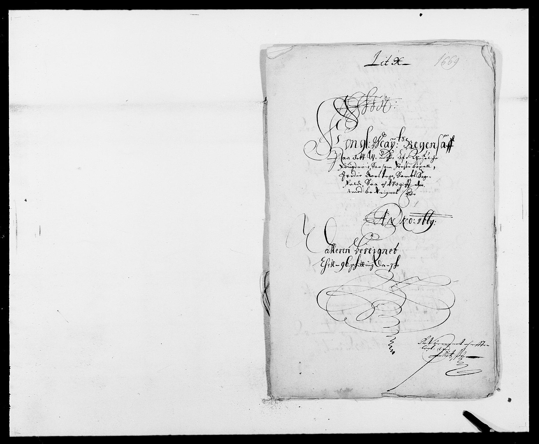 RA, Rentekammeret inntil 1814, Reviderte regnskaper, Fogderegnskap, R47/L2842: Fogderegnskap Ryfylke, 1665-1669, s. 160