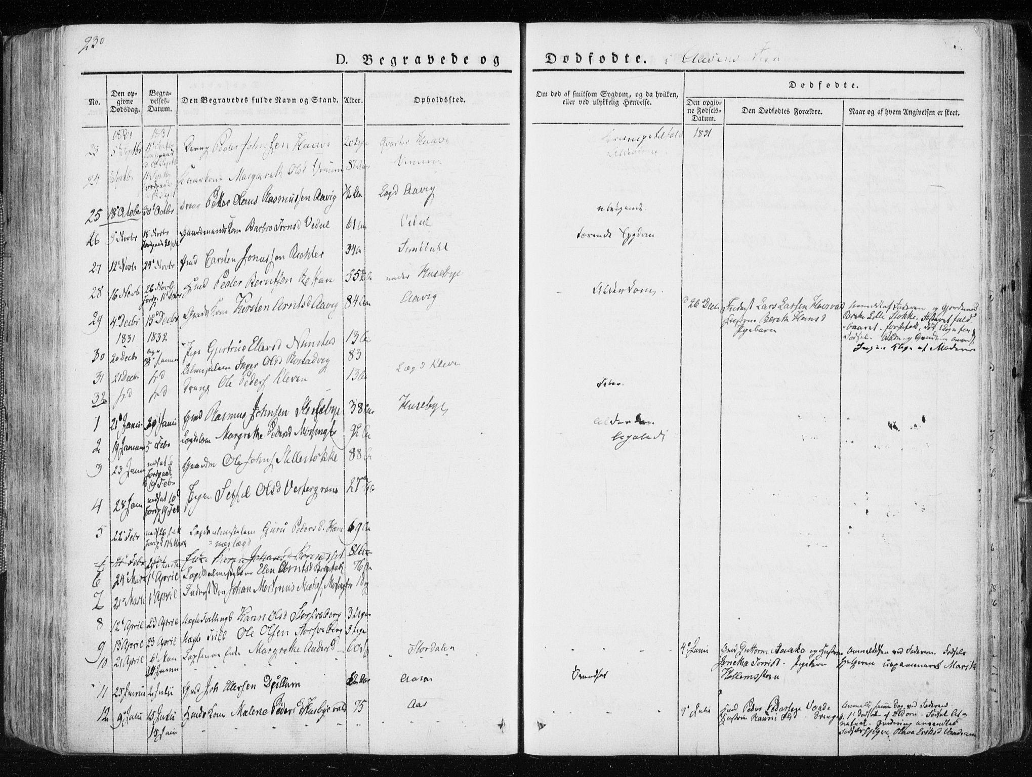 SAT, Ministerialprotokoller, klokkerbøker og fødselsregistre - Nord-Trøndelag, 713/L0114: Ministerialbok nr. 713A05, 1827-1839, s. 230