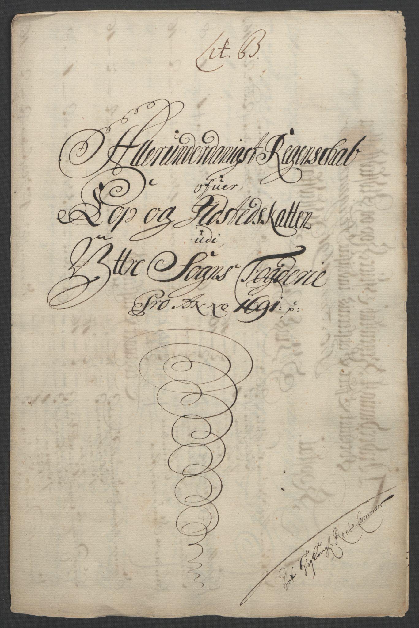 RA, Rentekammeret inntil 1814, Reviderte regnskaper, Fogderegnskap, R52/L3306: Fogderegnskap Sogn, 1691-1692, s. 84